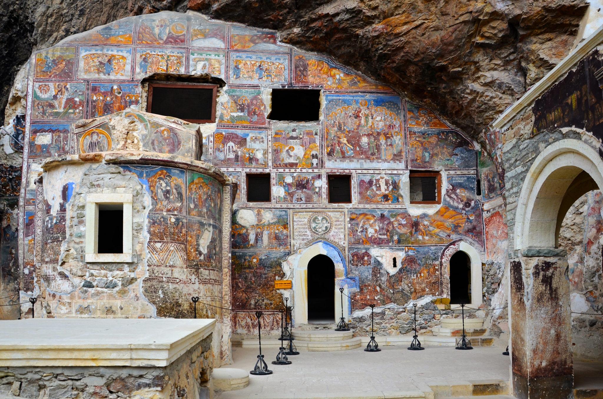 Kloster-Sumela-Gesamtansicht