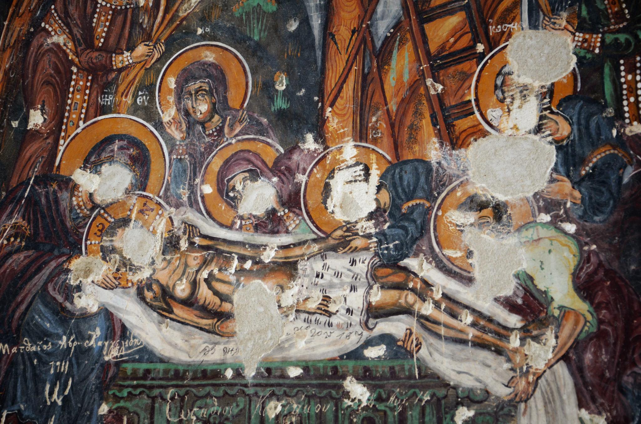 Kloster-Sumela-Malereien-ohne-Kopf