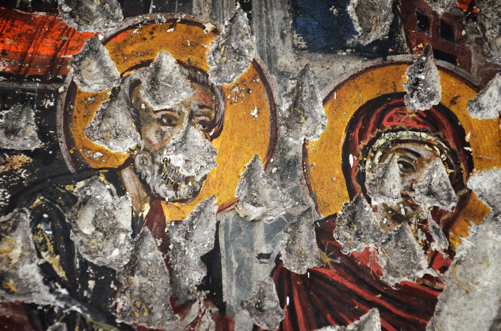 Kloster-Sumela-kaputte-Malereien