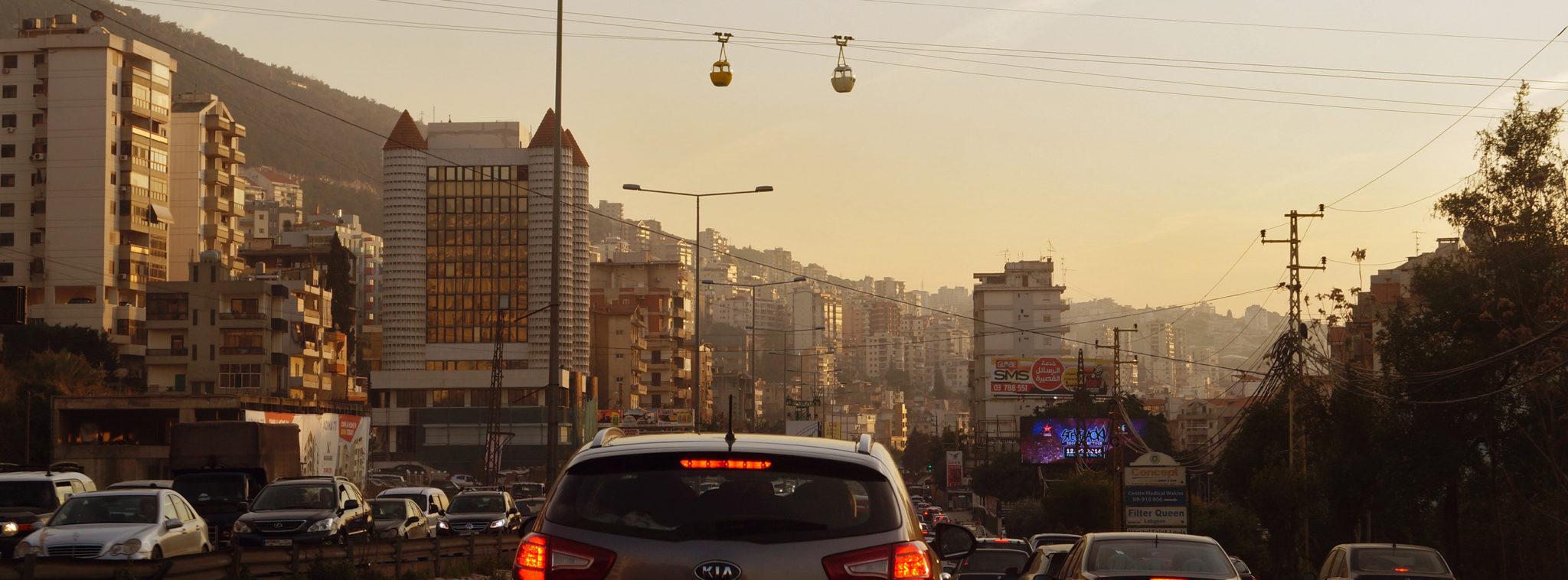 Libanon-Reisen-Stau-Slider