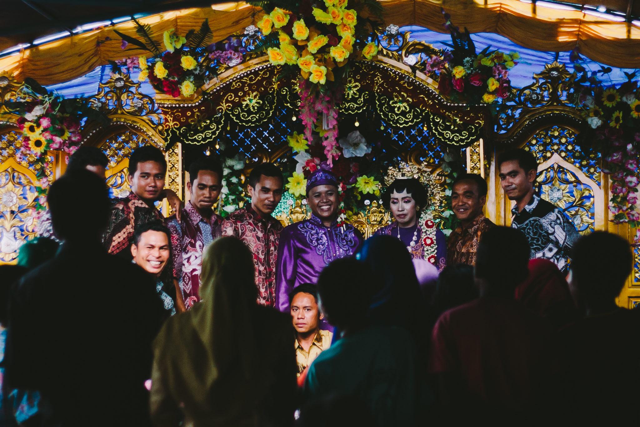 Sumbawa-Hochzeit-Indonesien-Muslimisch