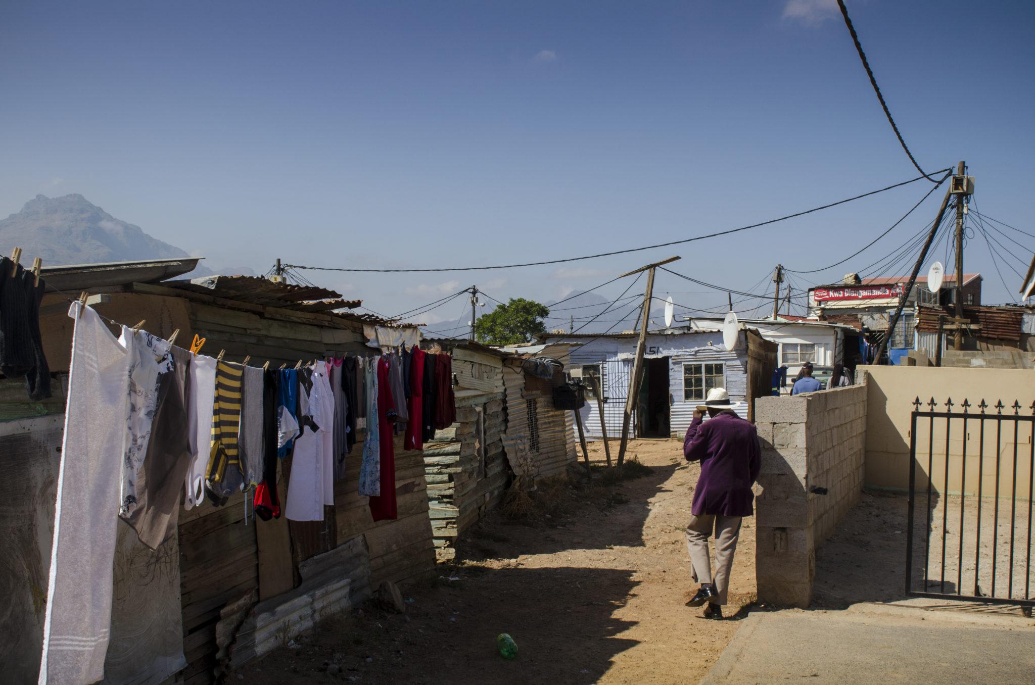 So sieht ein Township in Südafrika aus