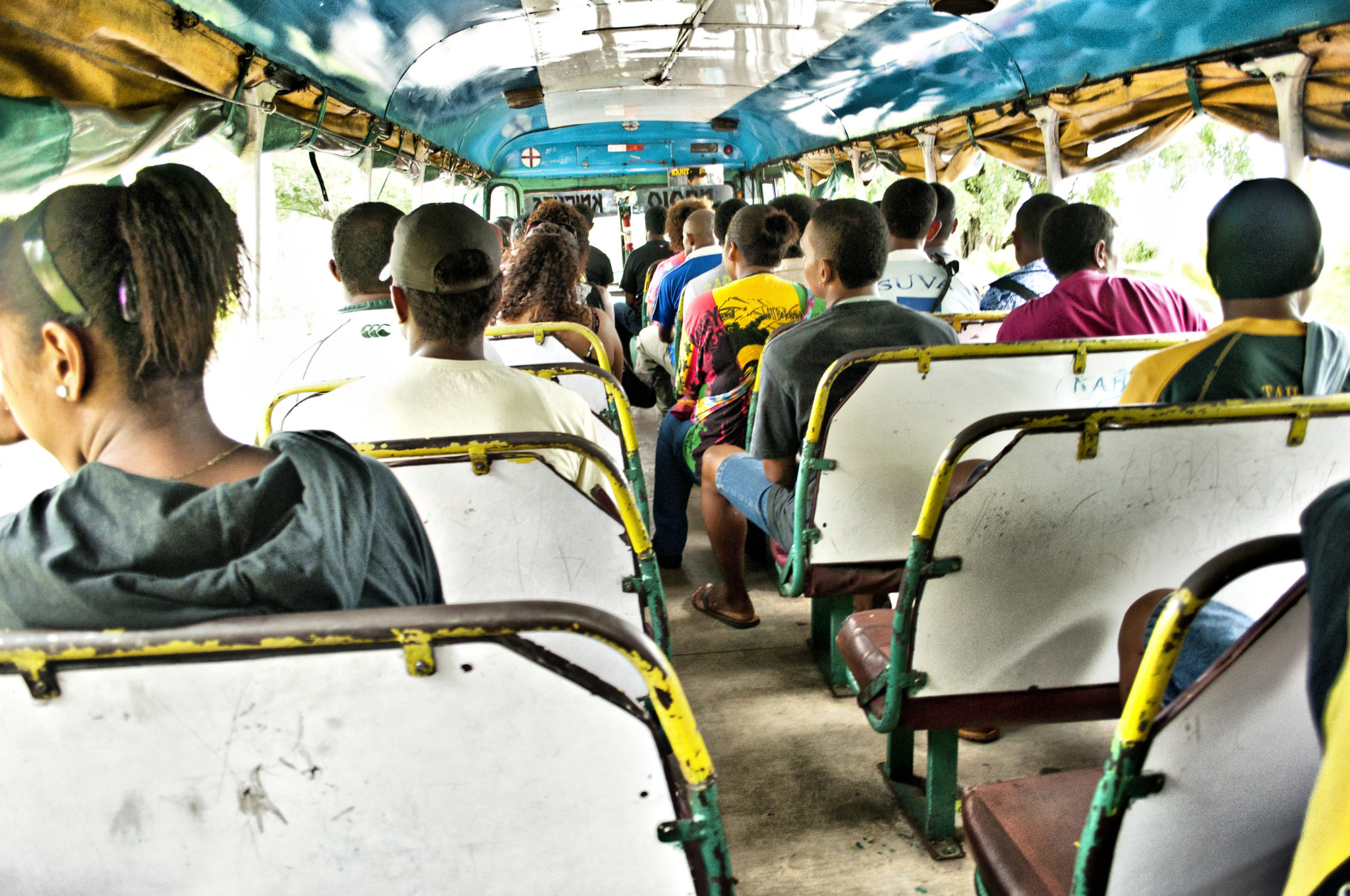 Mit dem Bus im Fidschi Urlaub unterwegs