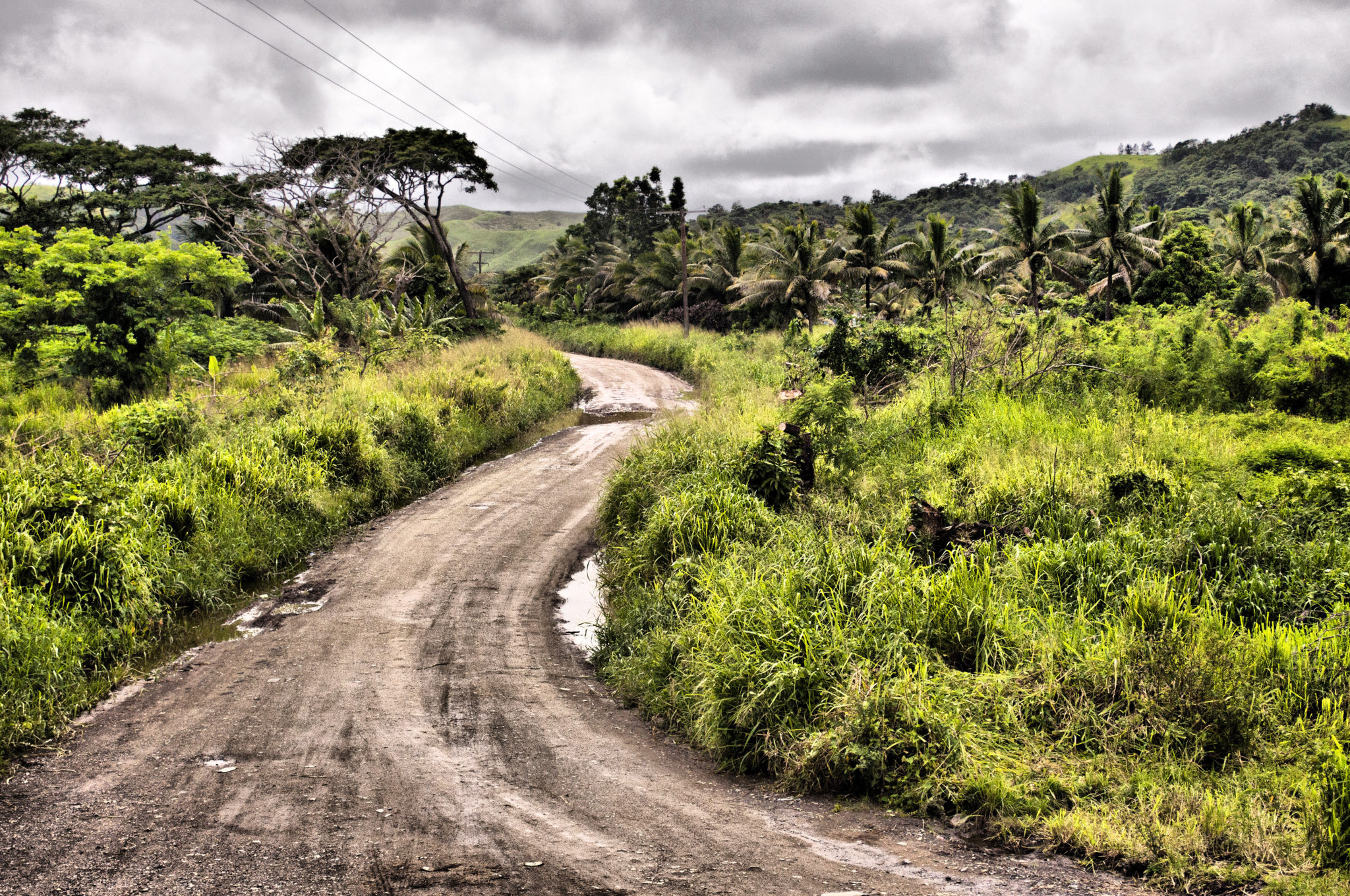 Fidschi-Reisetipps-Schotterpiste