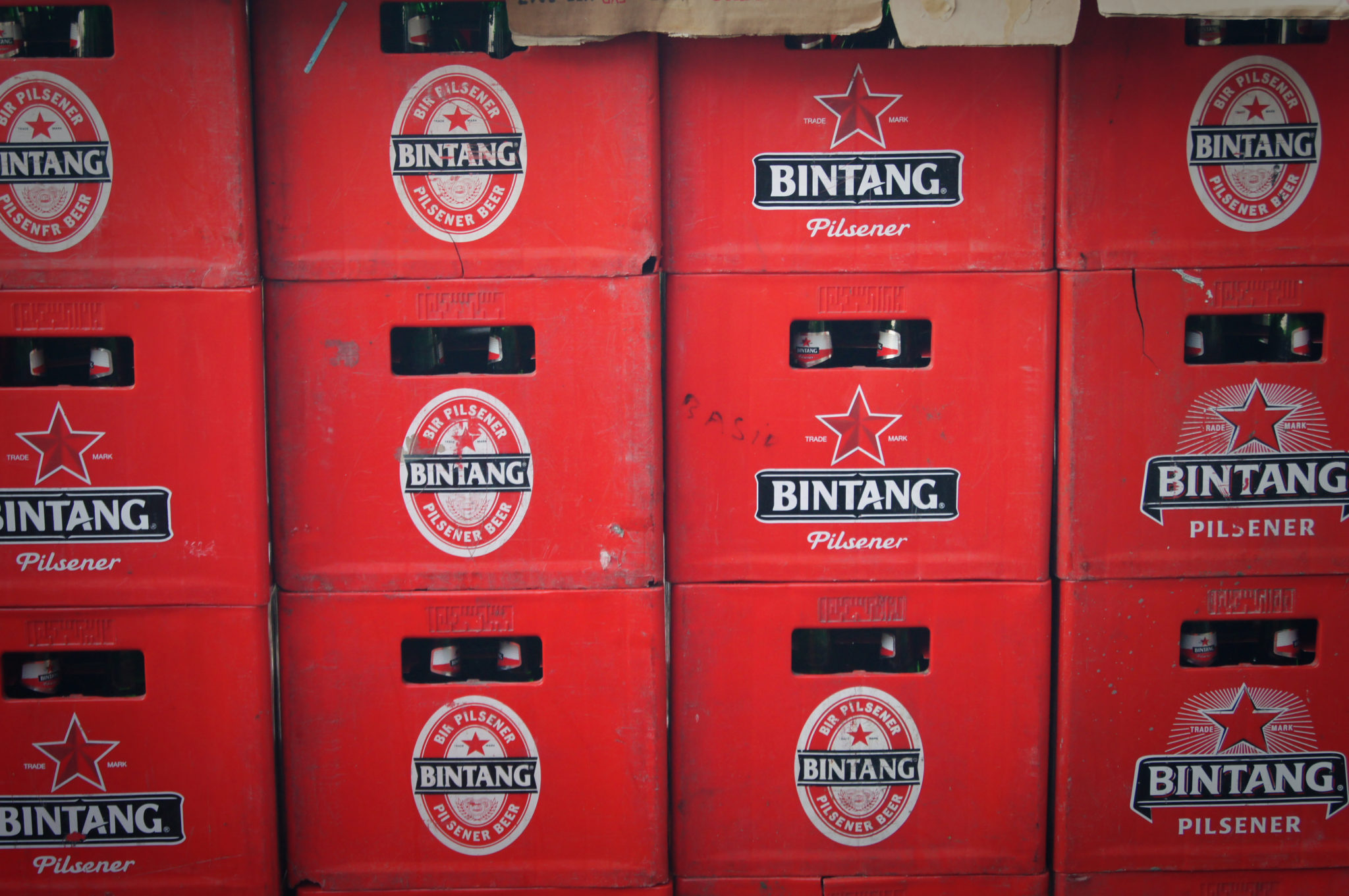 Bintang-Bier ist das Nationalbier in Indonesien