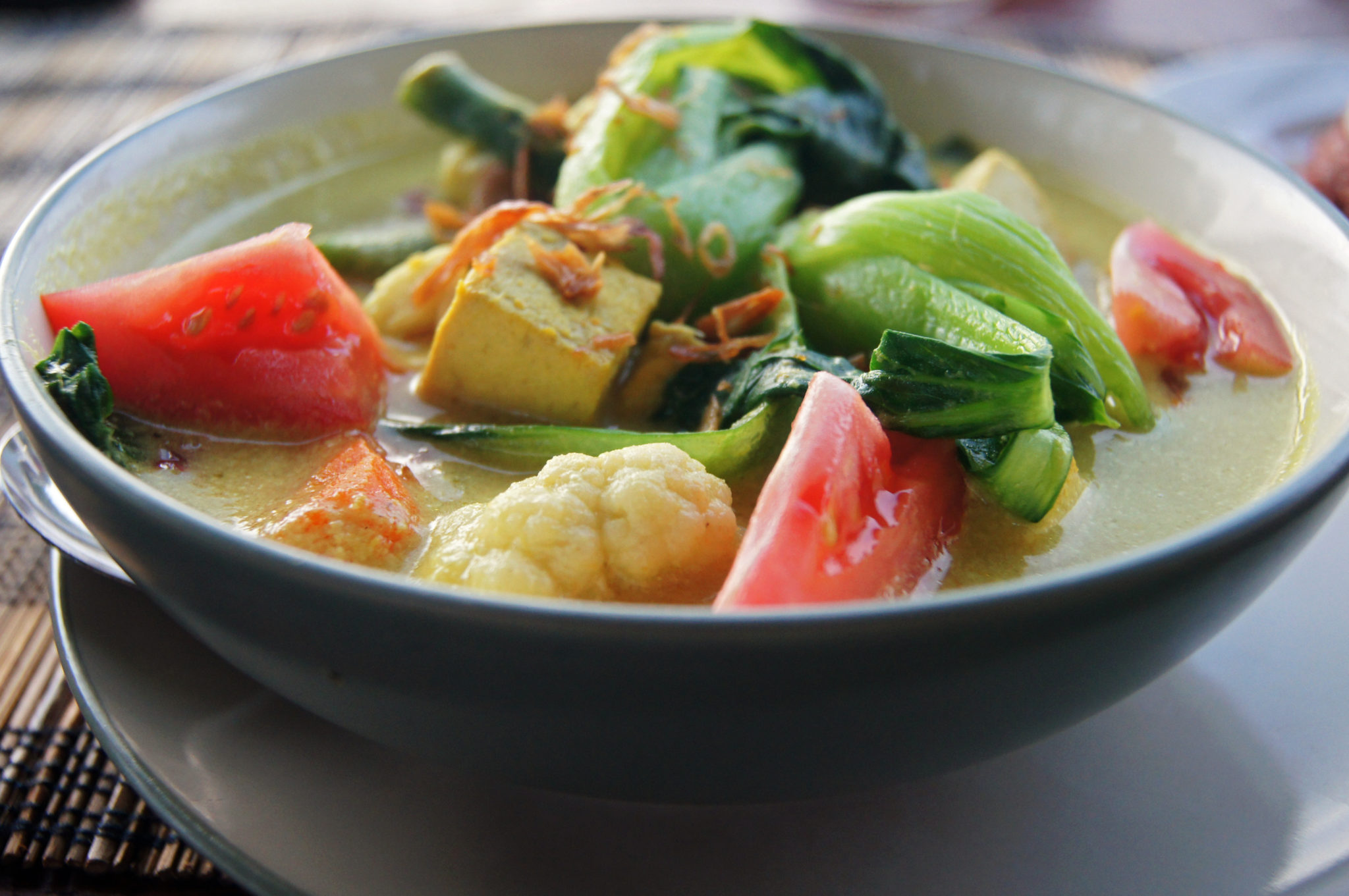 Leckeres Essen auf Indonesien Reisen