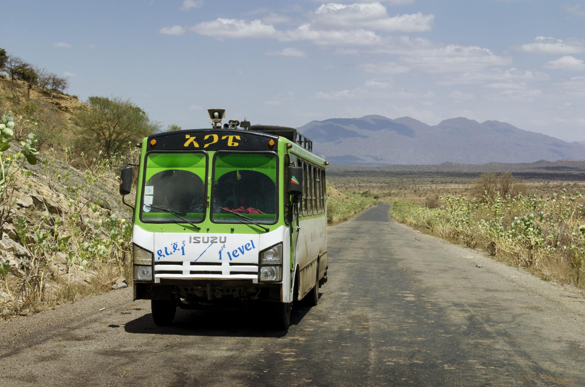 Überlandbusse in Äthiopien Reisetipps