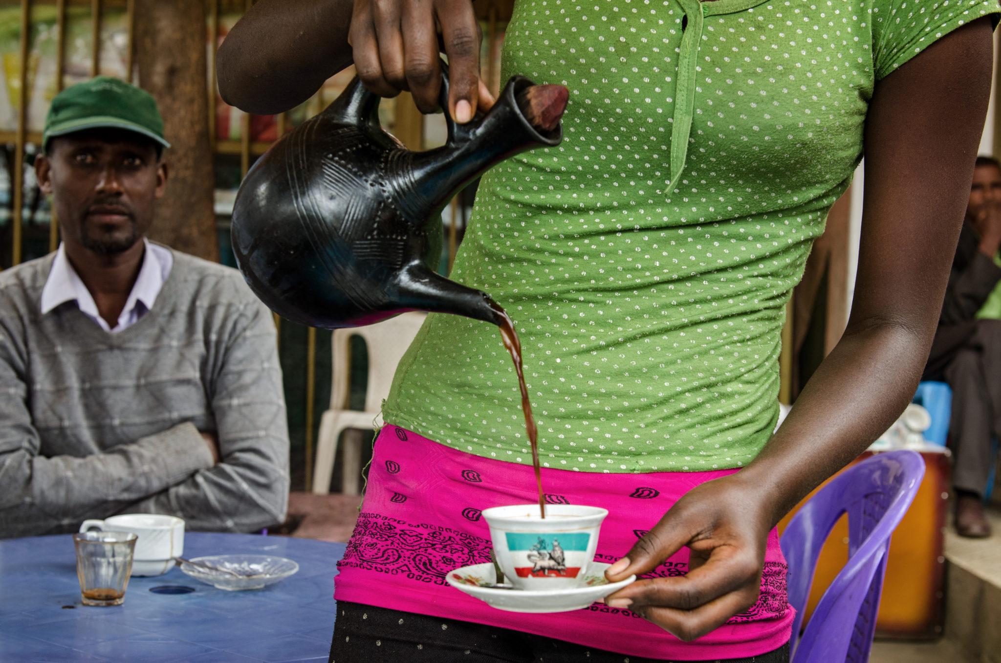 Kaffee trinken auf Äthiopien Reisen