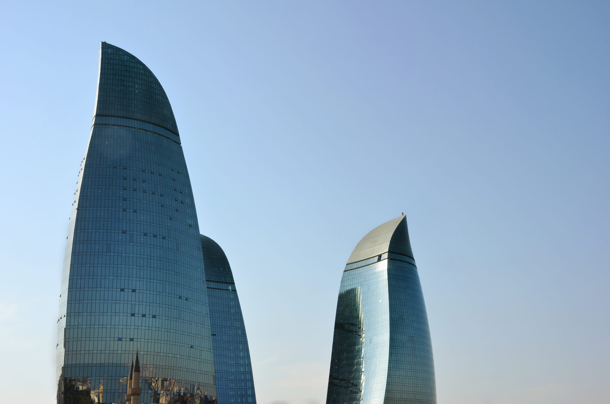 Baku-Aserbaidschan-Flame_Towers