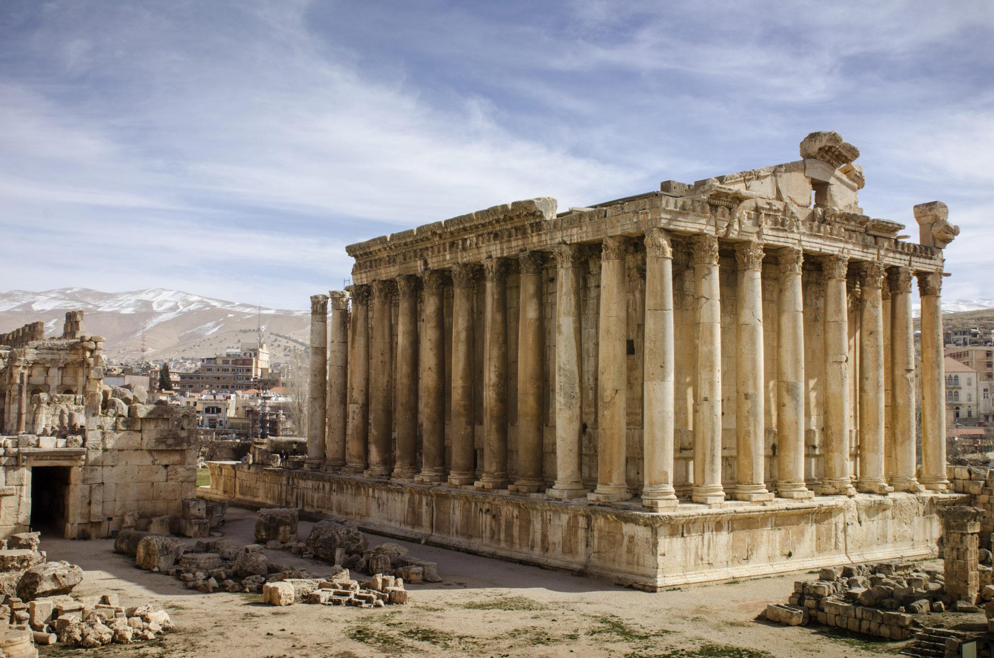 Libanon-Sehenswuerdigkeiten-Baalbek-Bekaa-Ebene