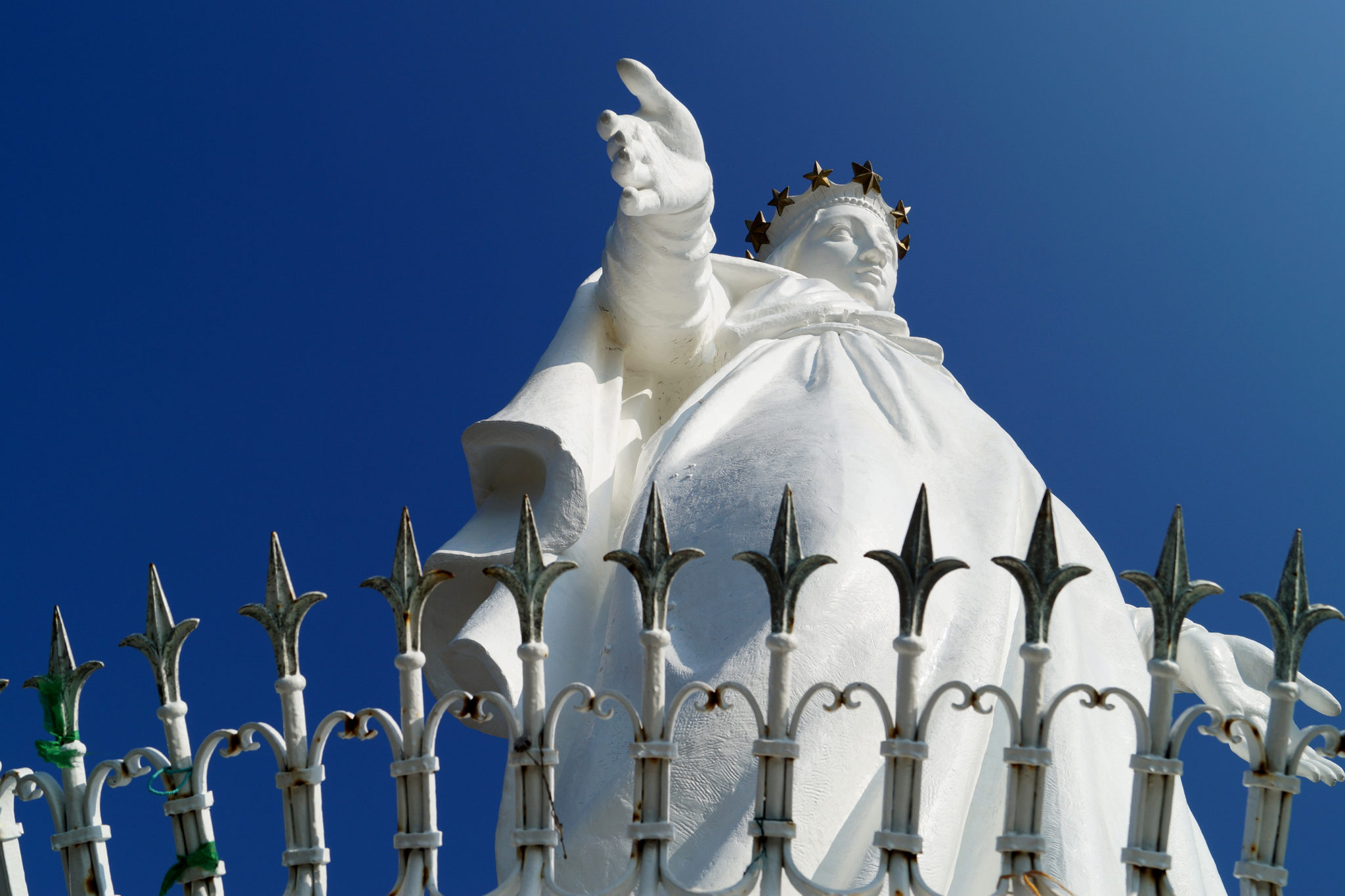Harissa Lady of Lebanon Statue