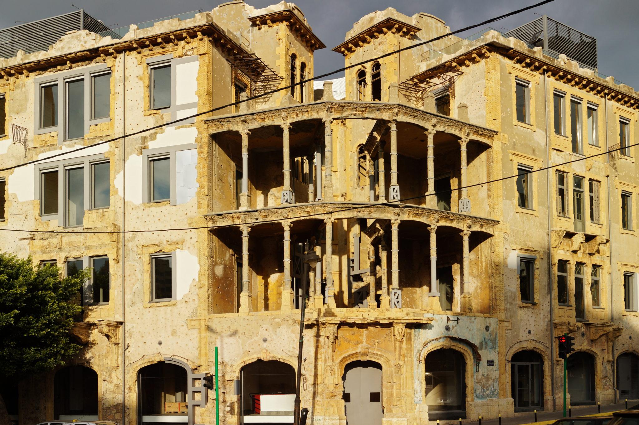In Beirut findet man immer noch Relikte der Vergangenheit