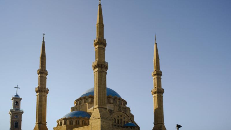 Libanon-Sehenswuerdigkeiten-Mohammed-al-Amin-Moschee