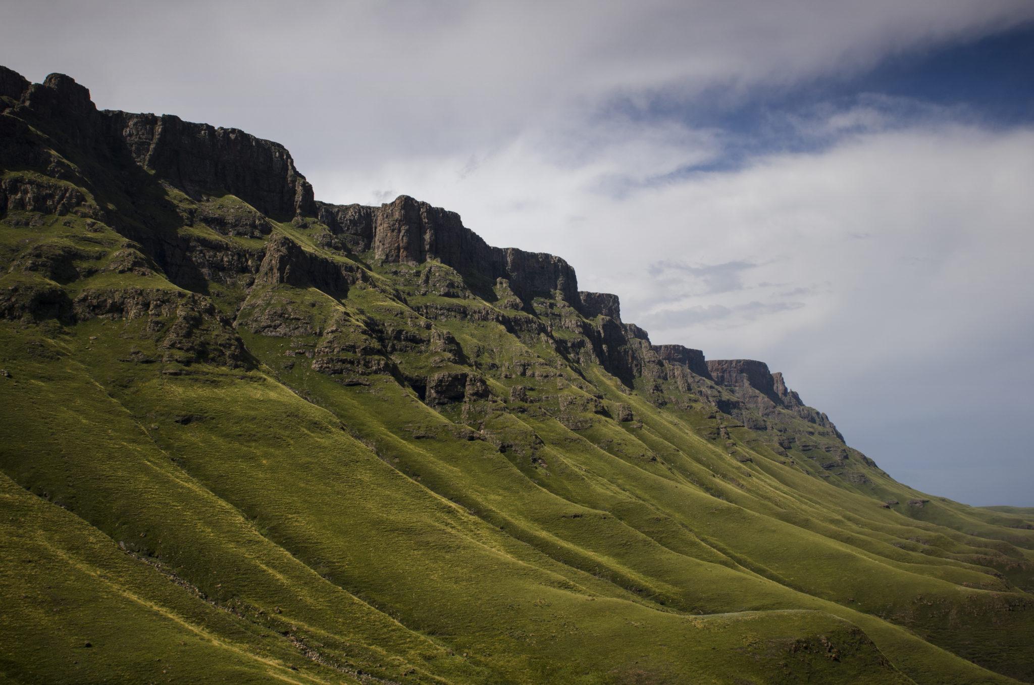 Der Sani Pass verbindet Südafrika und Lesotho