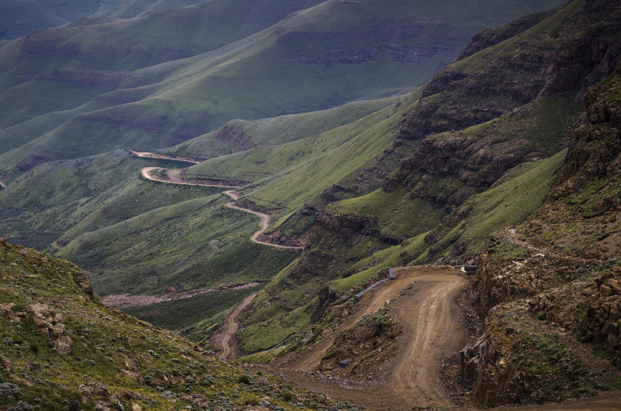 Der Sani Pass in Südafrika und Lesotho gilt als gefährliche Bergstraße