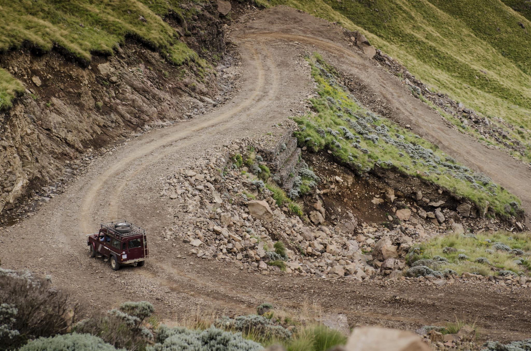 Sani Pass in den Drakensbergen: Herzrasen auf 2.875 Metern