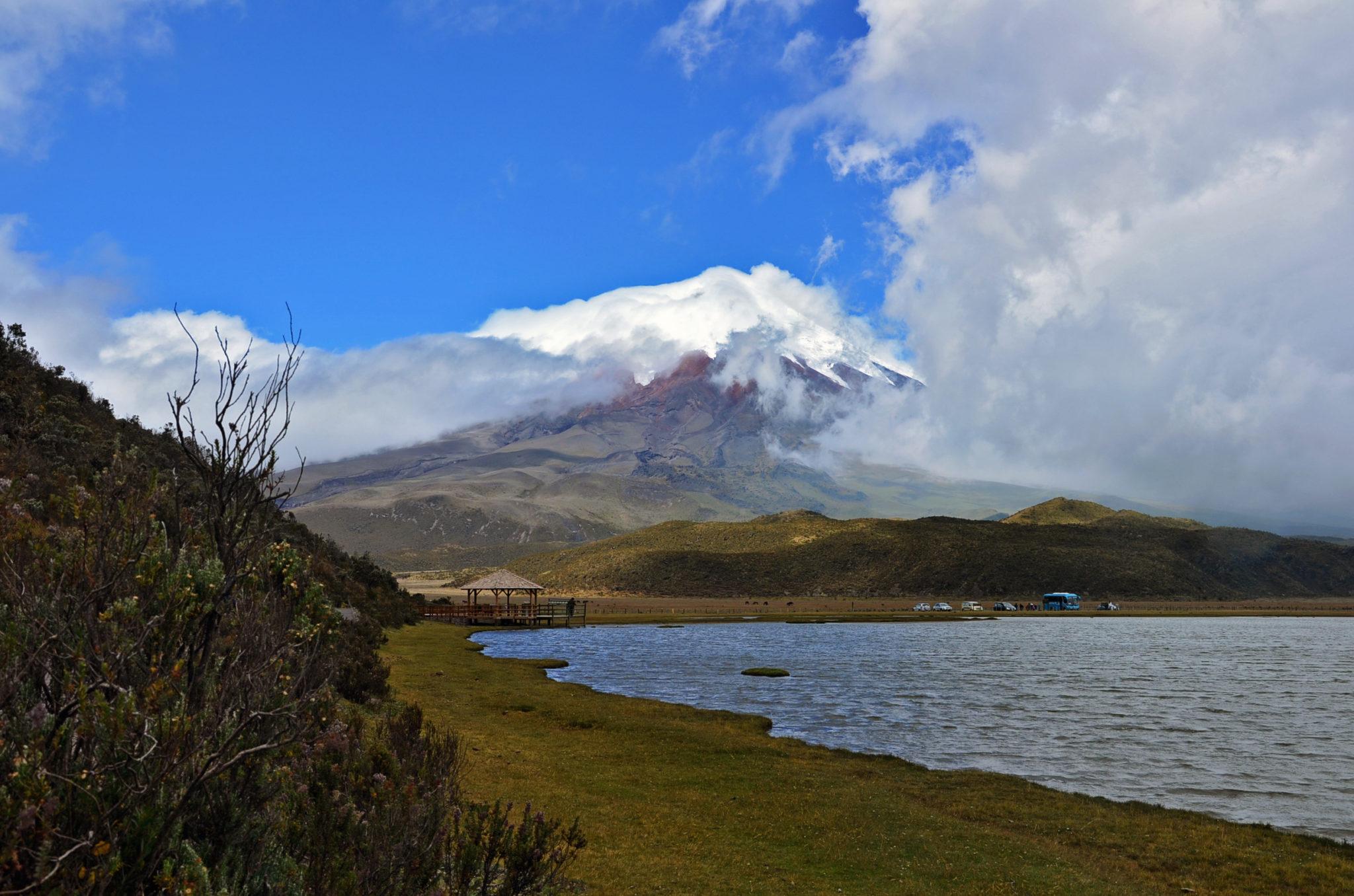 Cotopaxi Vulkan ist ein Highlight in Ecuador