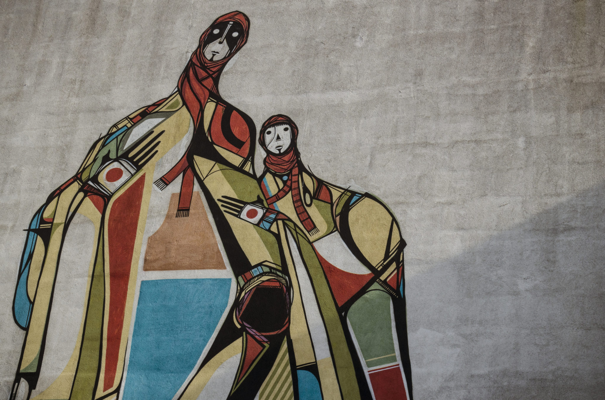 Tuerkei-Sehenswuerdigkeiten-Kopftuch-Graffiti-Streetart