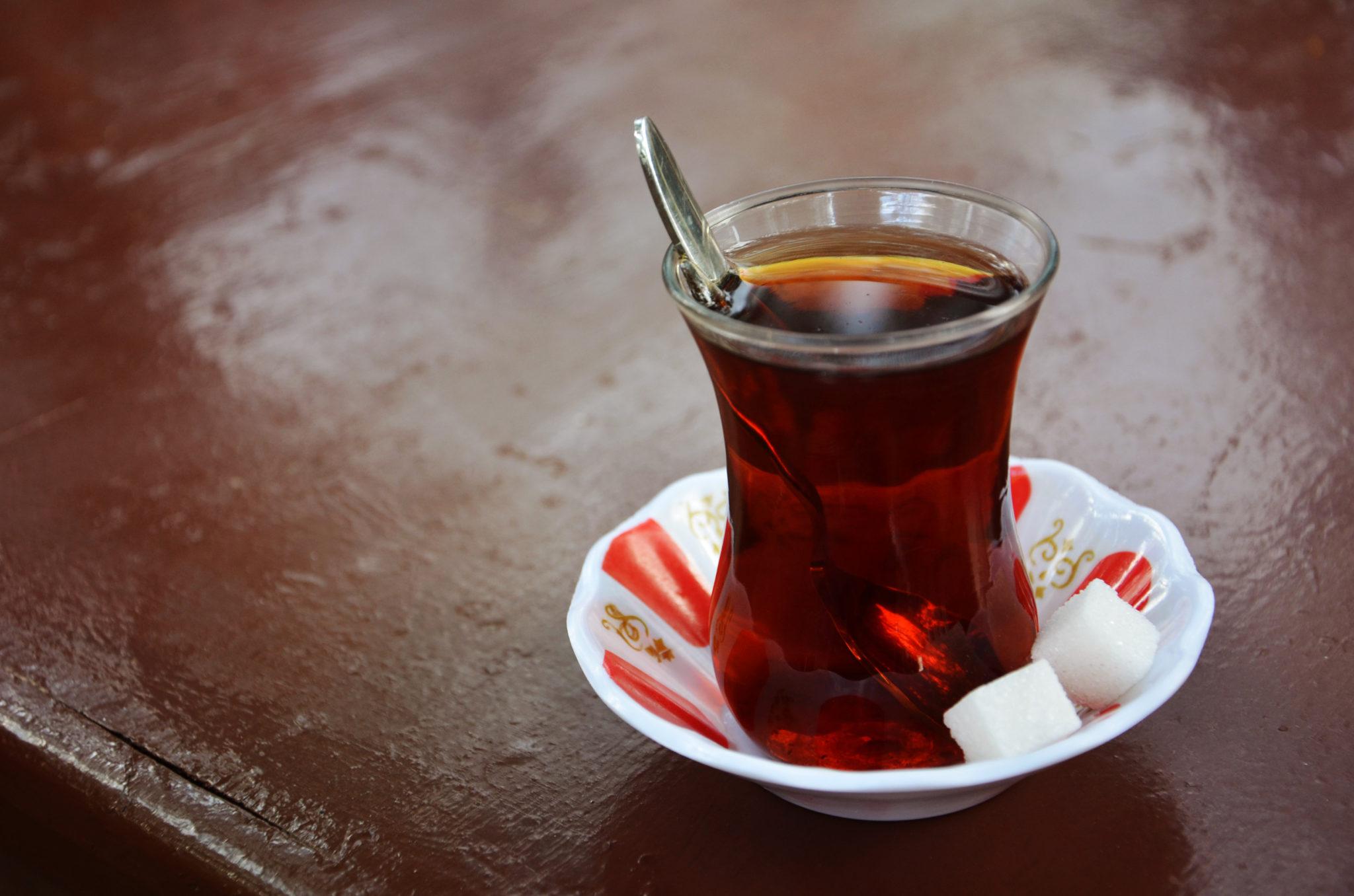 Schwarztee in der Türkei
