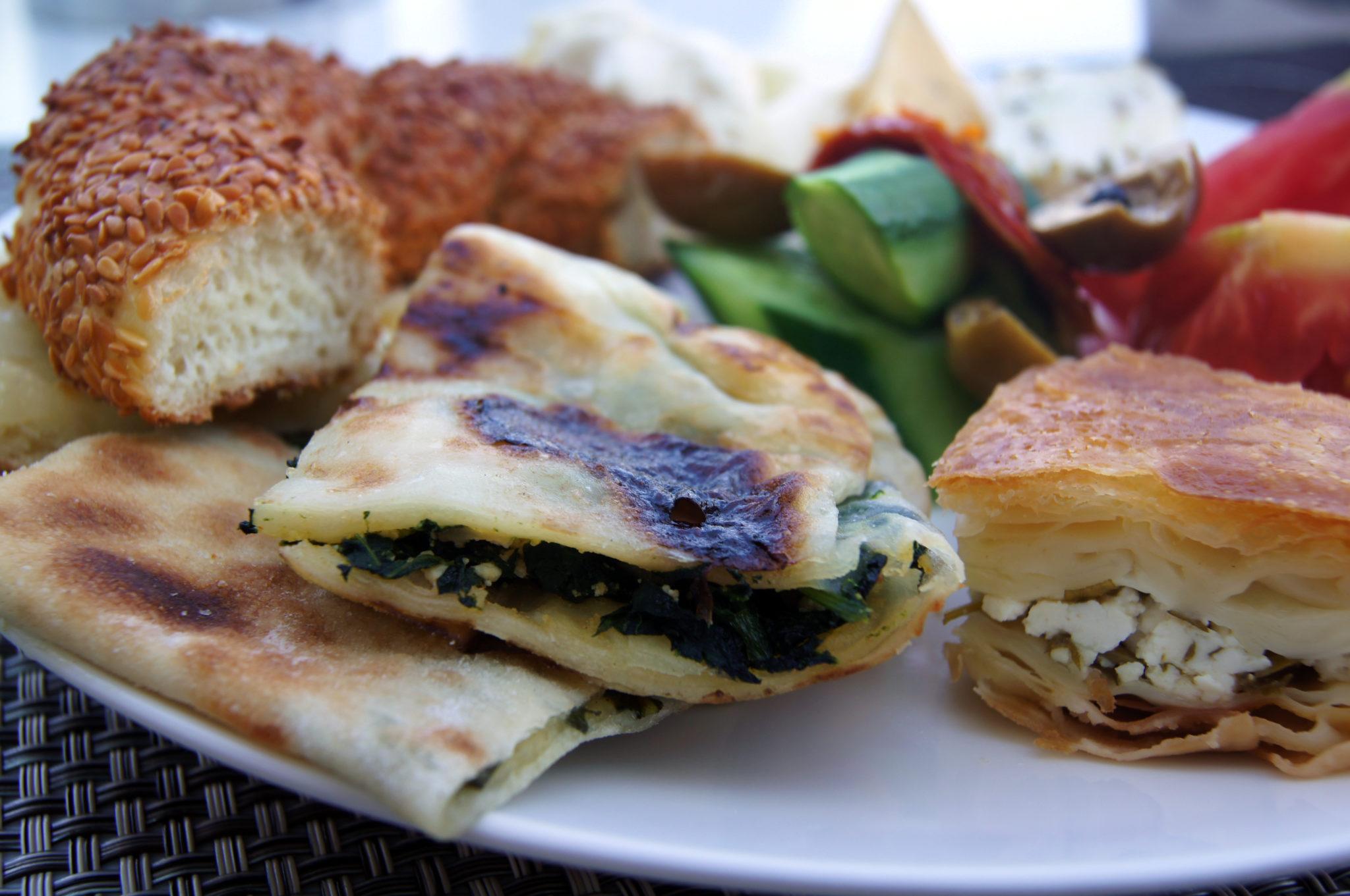 Türkisches Essen Börek