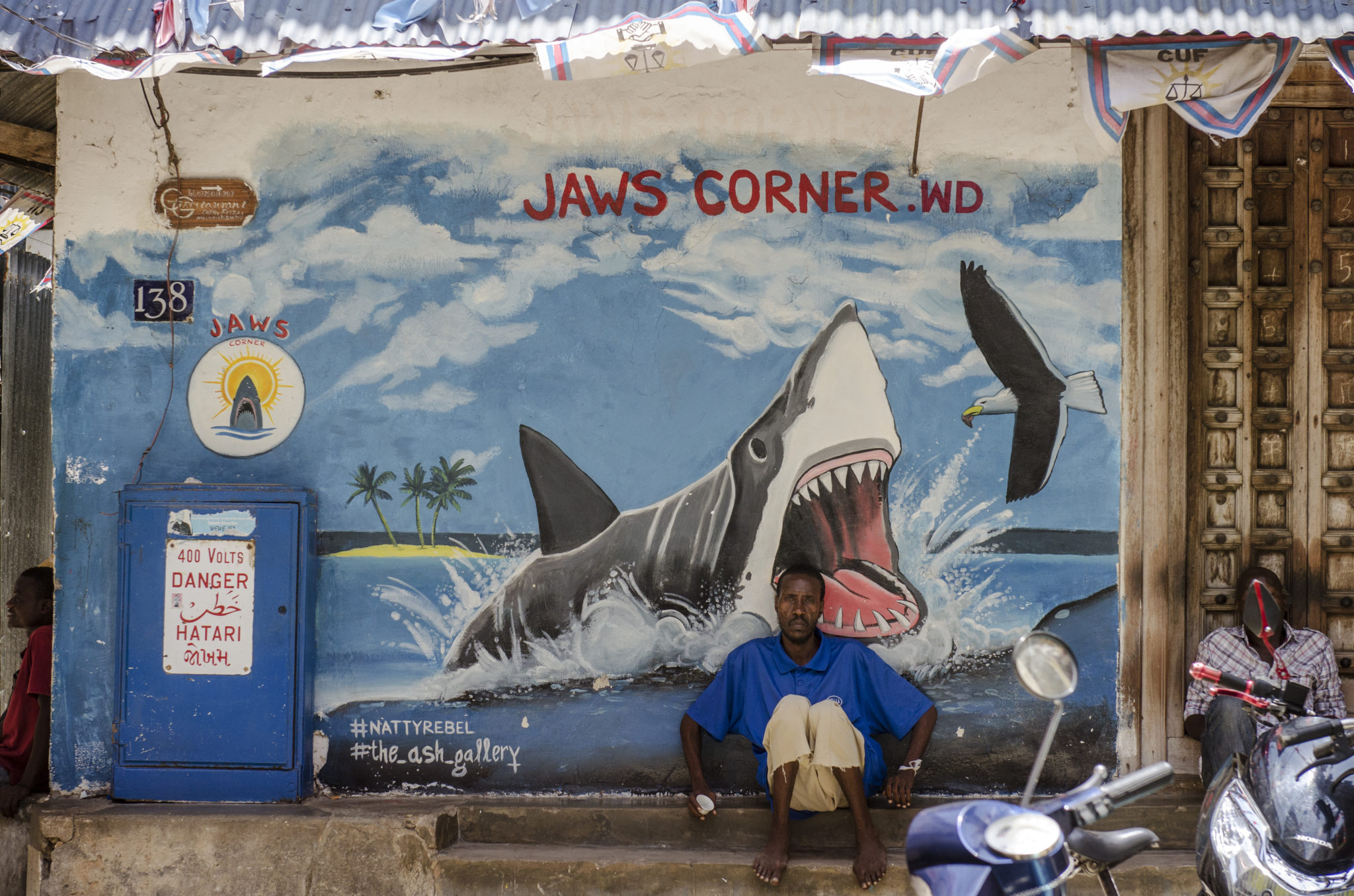 Die Jaws Corner in Stone Town auf Sansibar