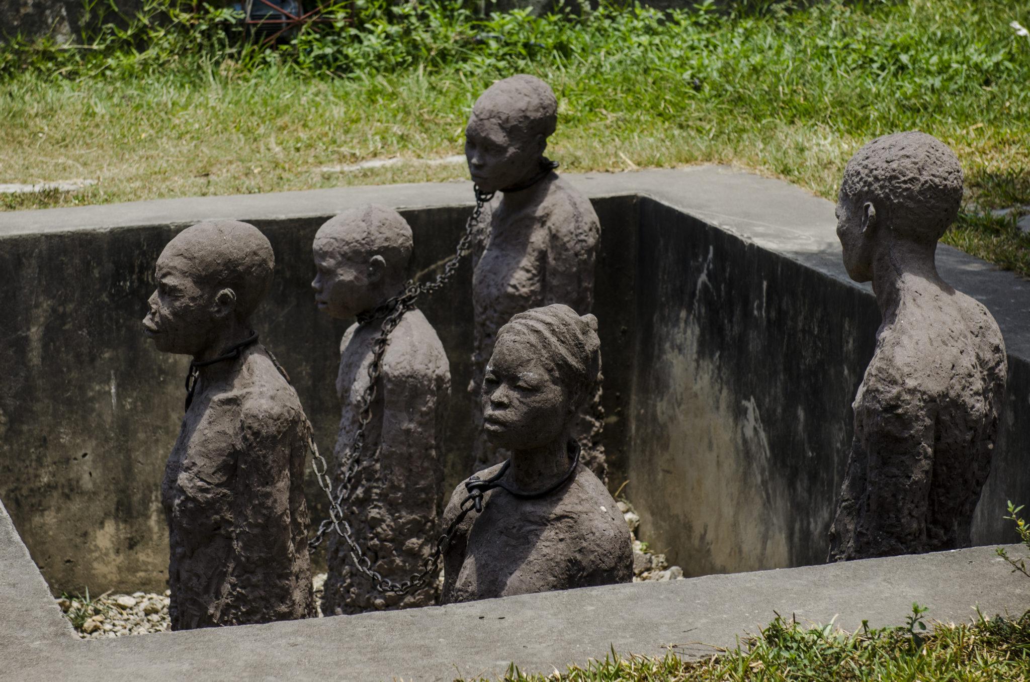Das Sklavenmuseum in Stone Town in Sansibar