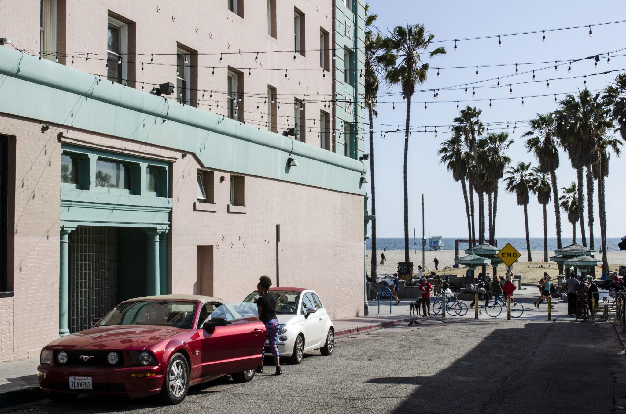 Venice-Beach-Seitenstrasse