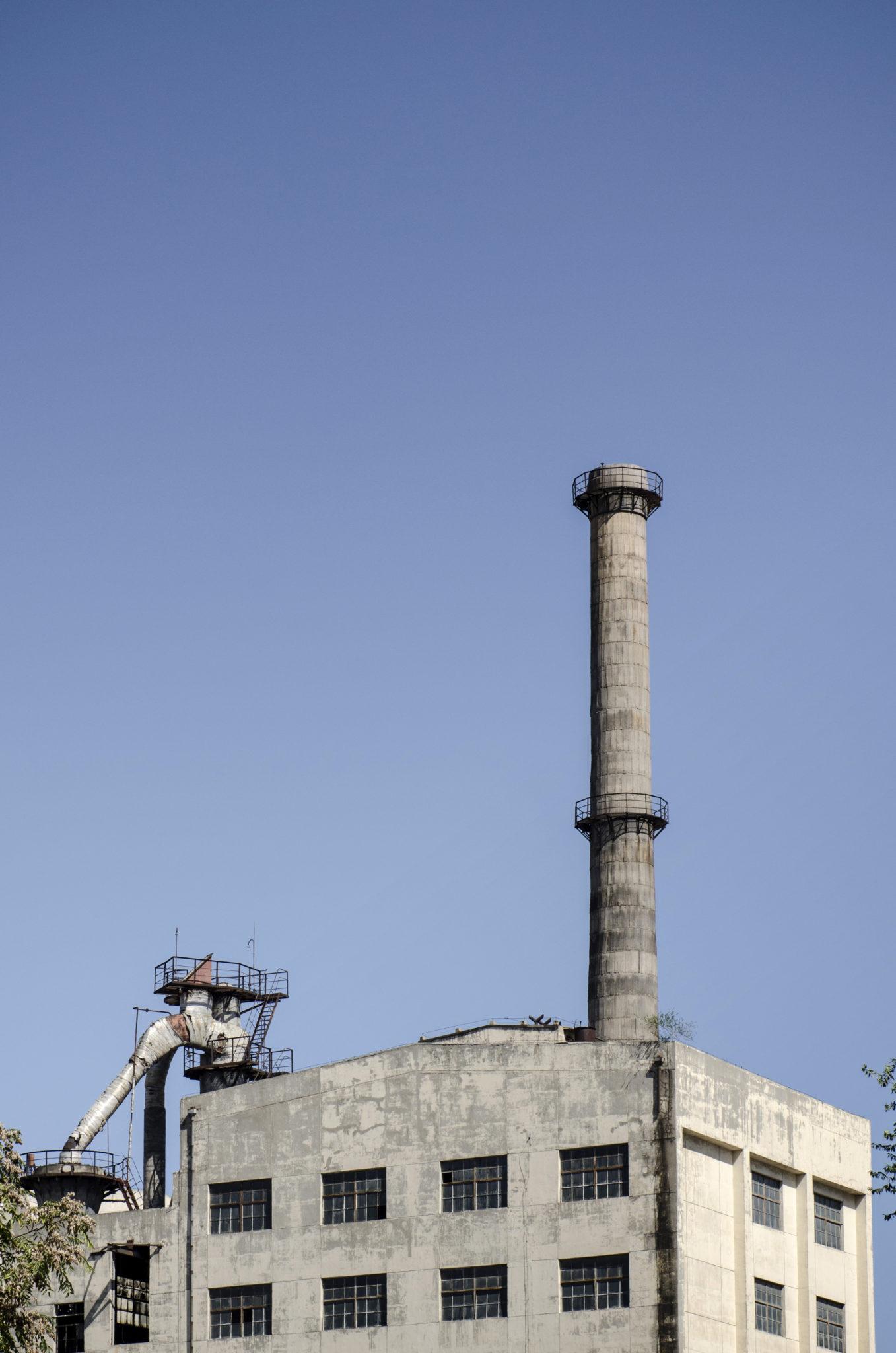 Industriegebäude im 798 Art District Peking