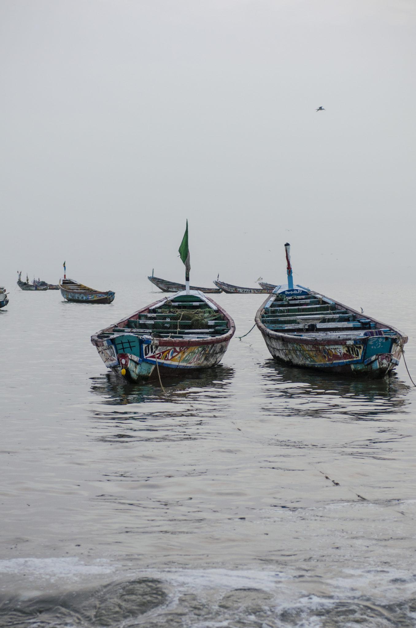 Fischmarkt-Mbour-Piroge-Senegal