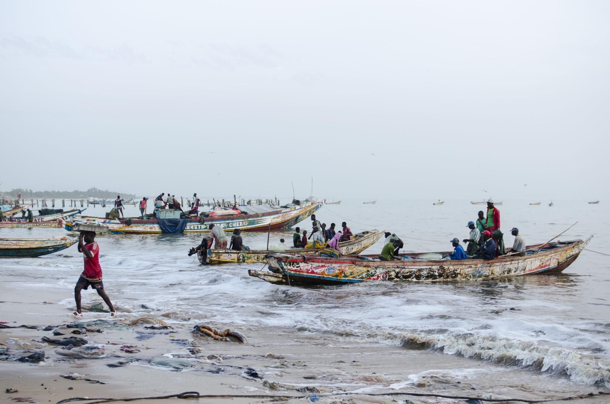 Landgang – der Fischmarkt von Mbour an der Petite Côte