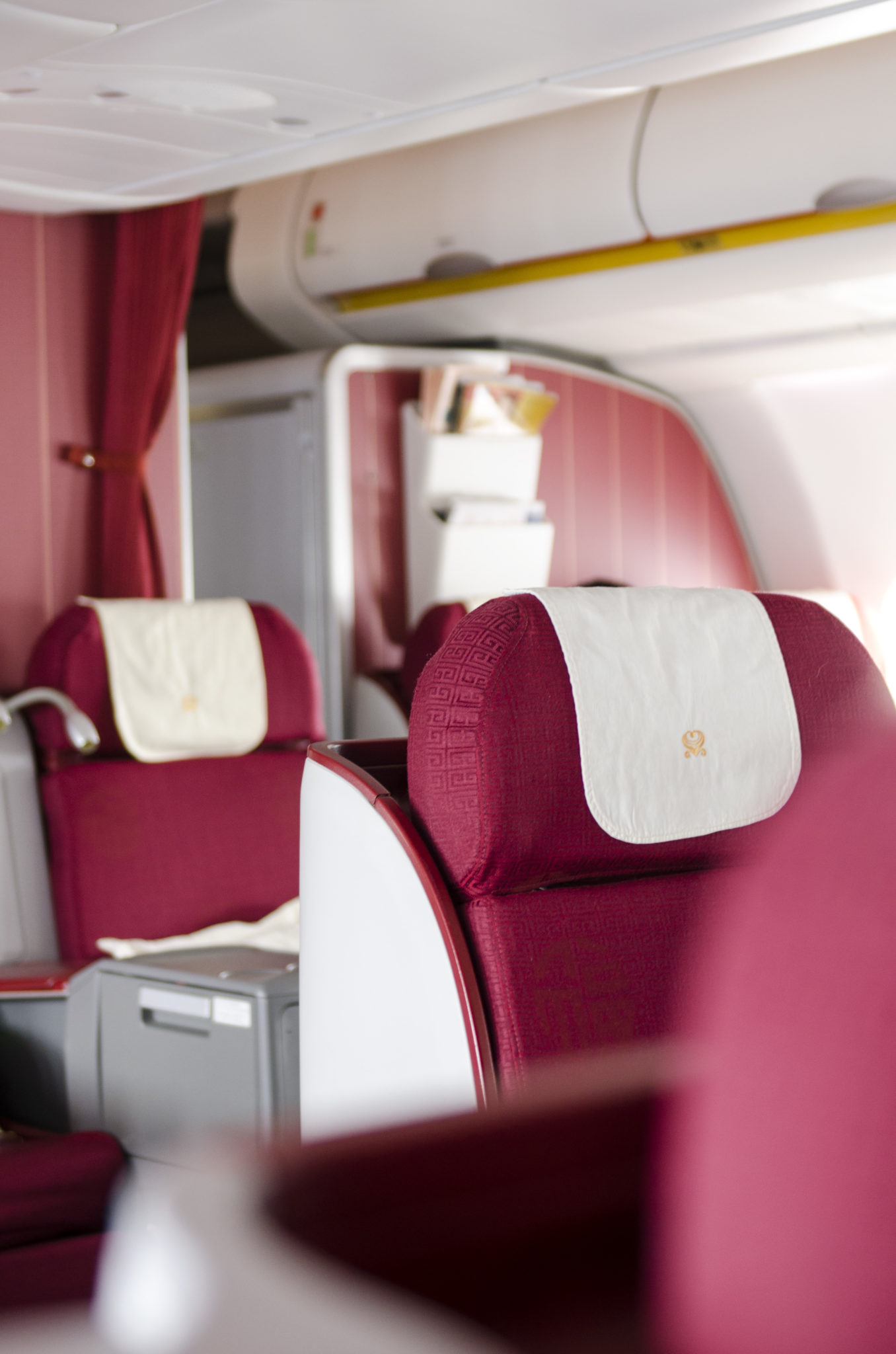 Hainan-Business-Class-Berlin-Peking-A330-von-innen