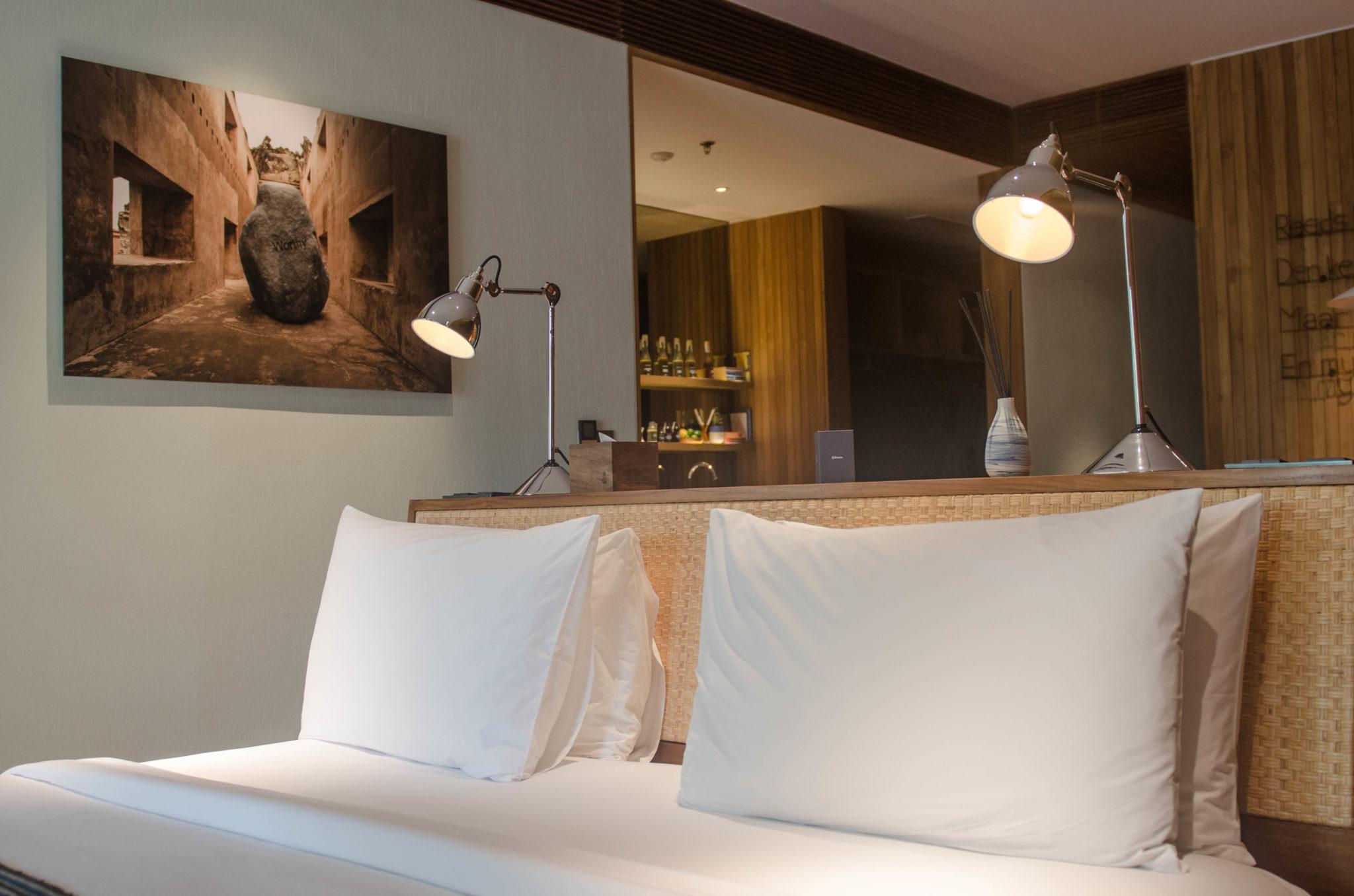 Das Zimmer im Katamama Hotel Bali