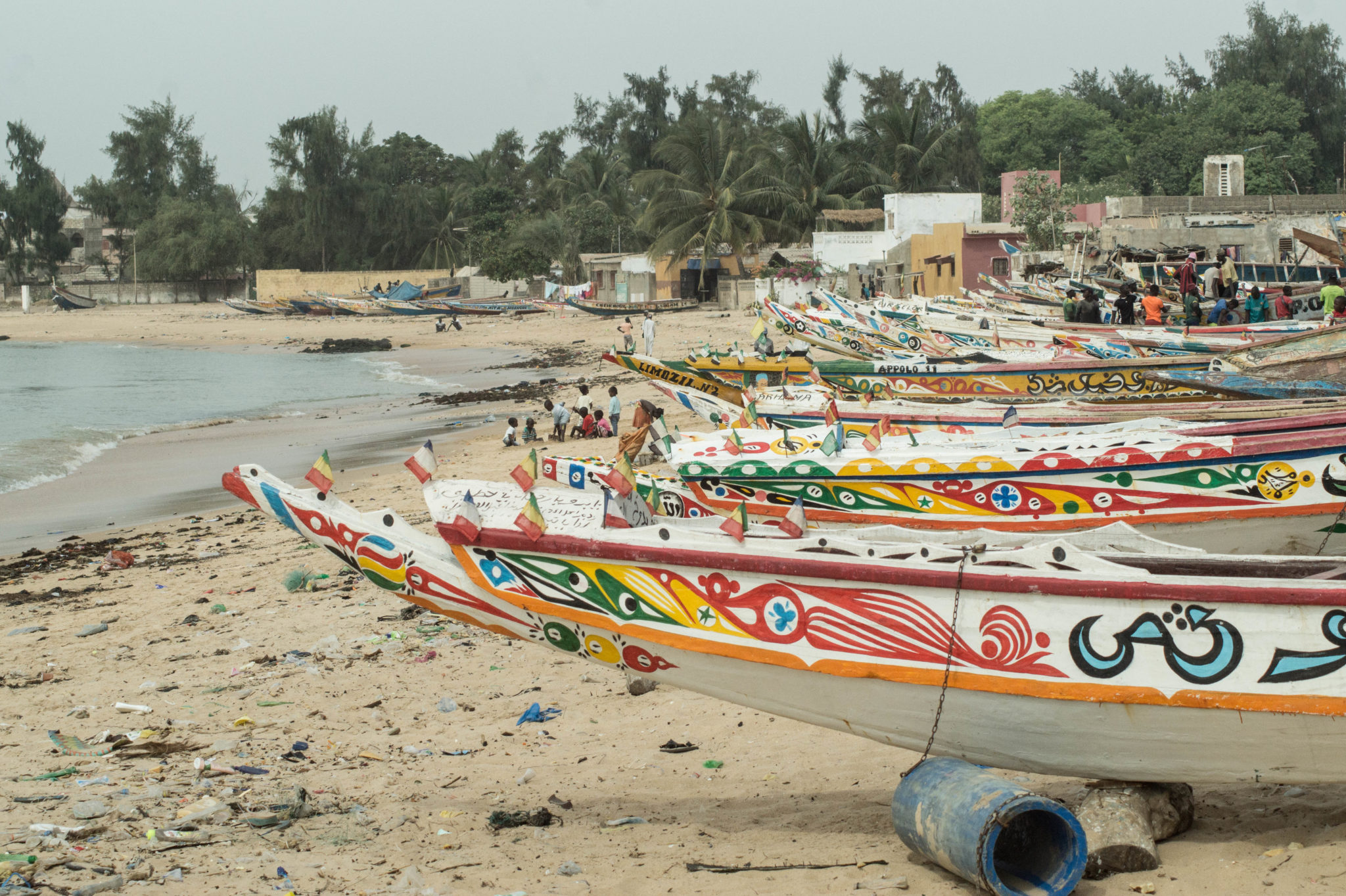 Senegal-Sehenswuerdigkeiten-Mbour-Pirogen