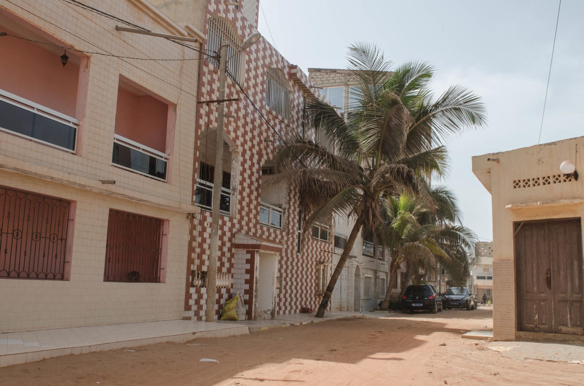 Der Bezirk Yoff in Dakar hat die schönsten versteckten Gassen