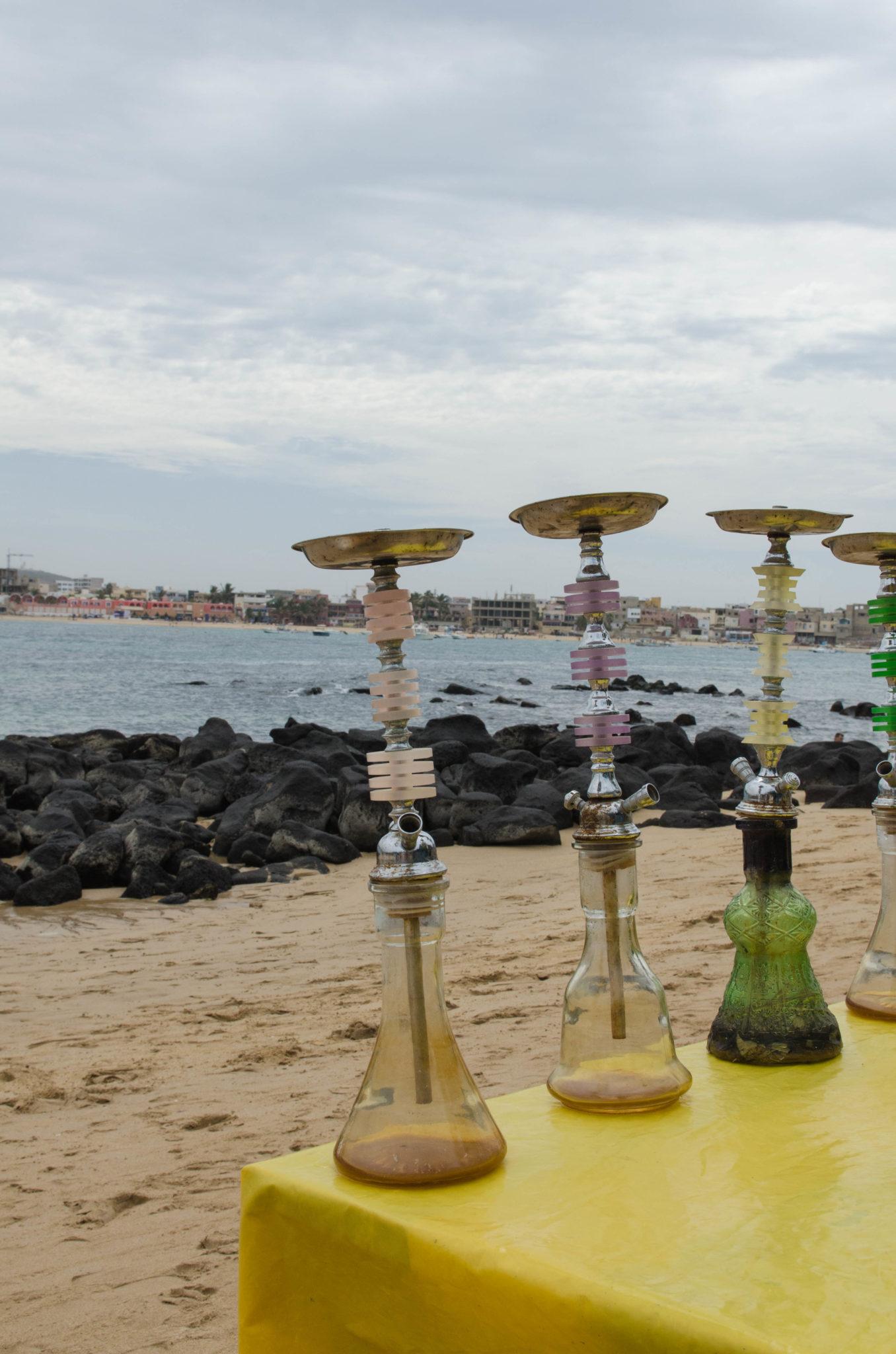 Tagesausflug-von-Dakar-Ile-Ngor-Wasserpfeife