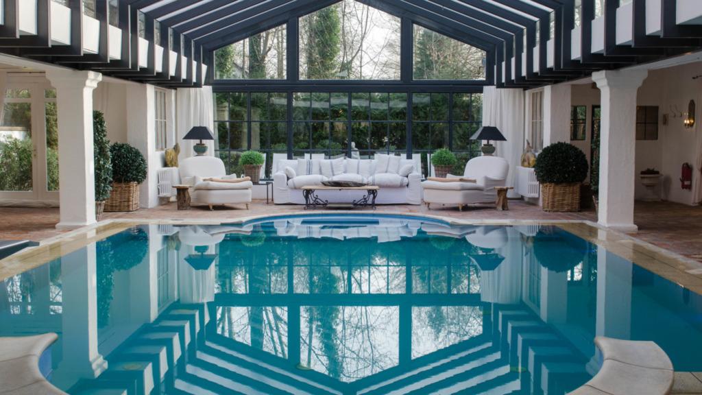 Der Swimmingpool ist nur ein Element des Spas vom Bleiche Resort & Spa