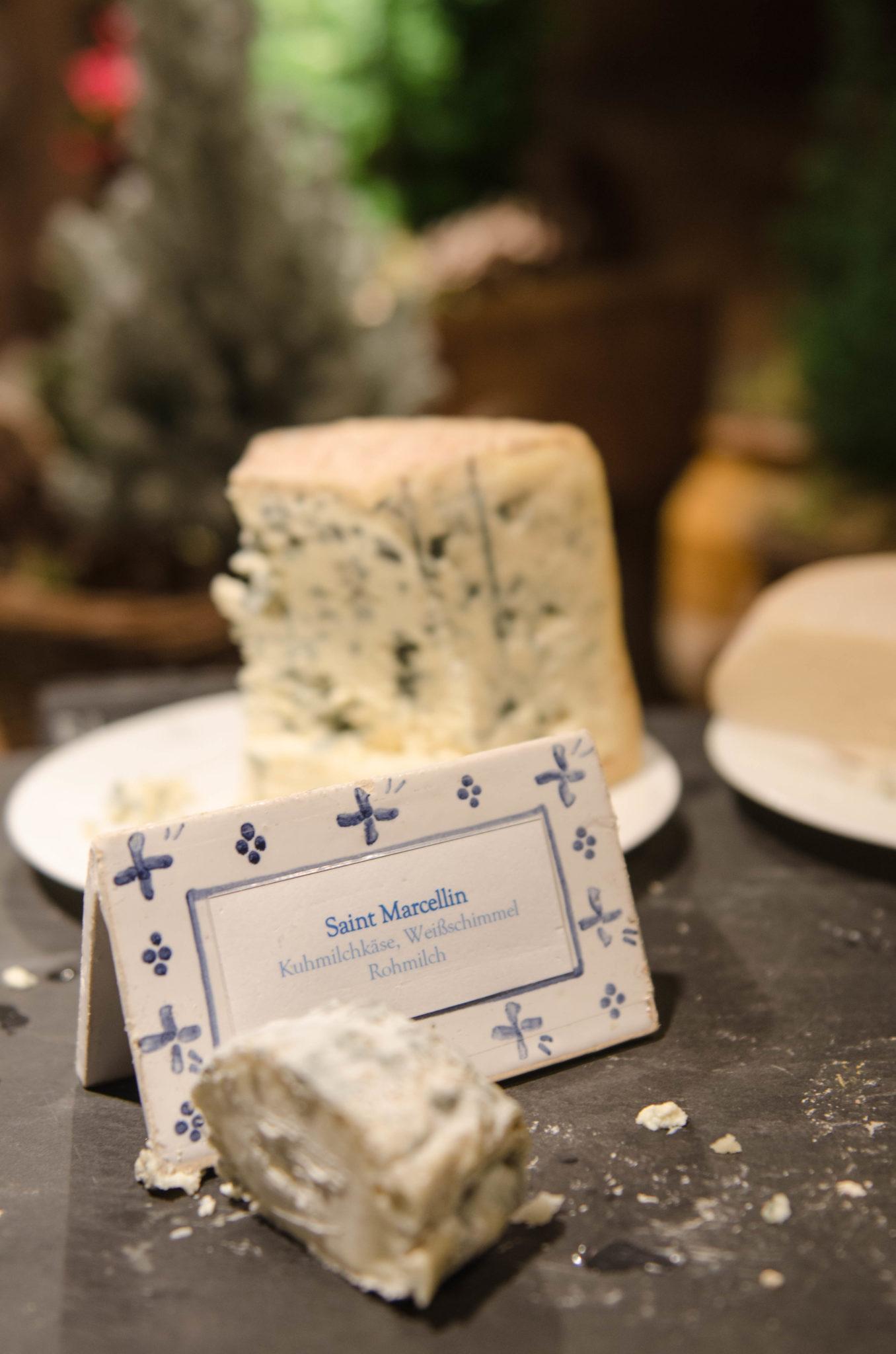 Eine eigene Käsekammer gibt's auch im Bleiche Resort & Spa