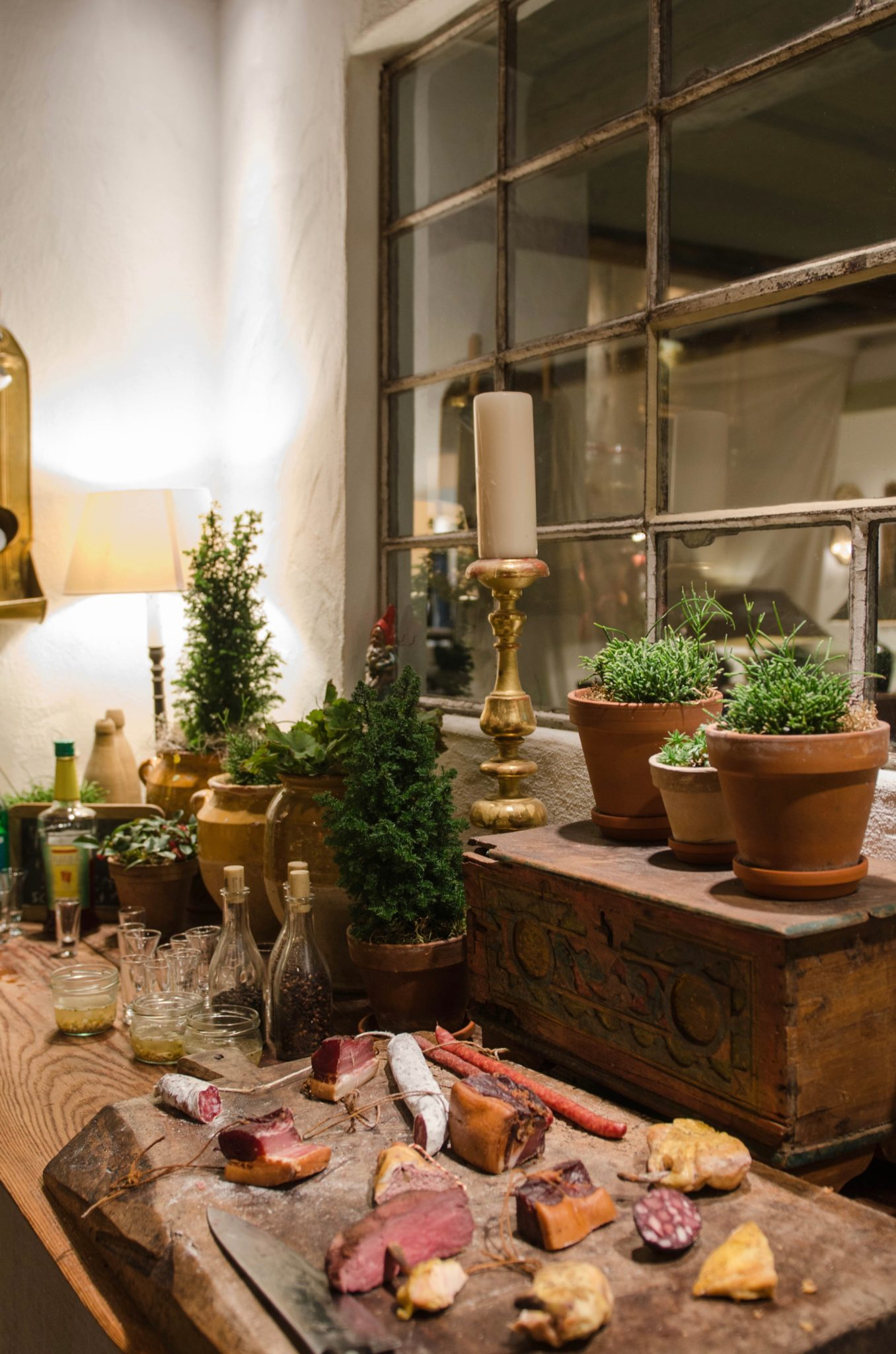 Lieblingsort: Die Kammer mit regionalen Spezialitäten ist ein echtes Highlight im Bleiche Resort & Spa