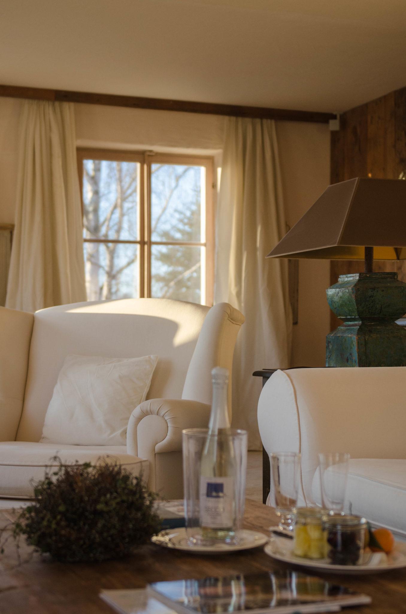 Geräumig und gemütlich: Die Spa-Suite im Bleiche Resort & Spa