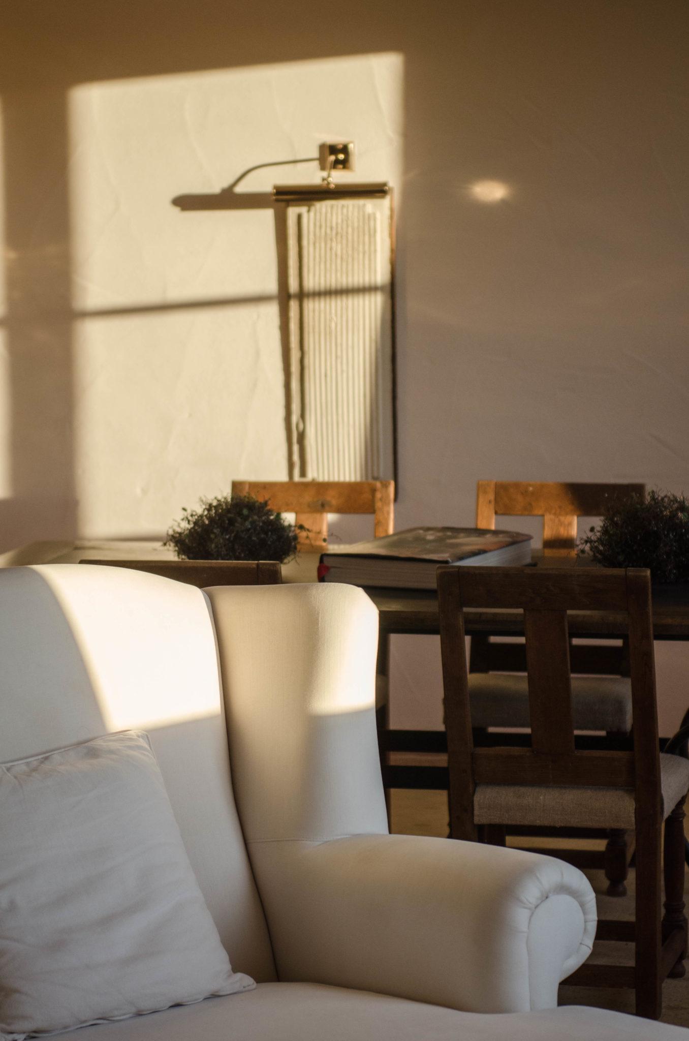 Besonders idyllisch zum Sonnenuntergang: Die Spa-Suite des Bleiche Resort & Spa