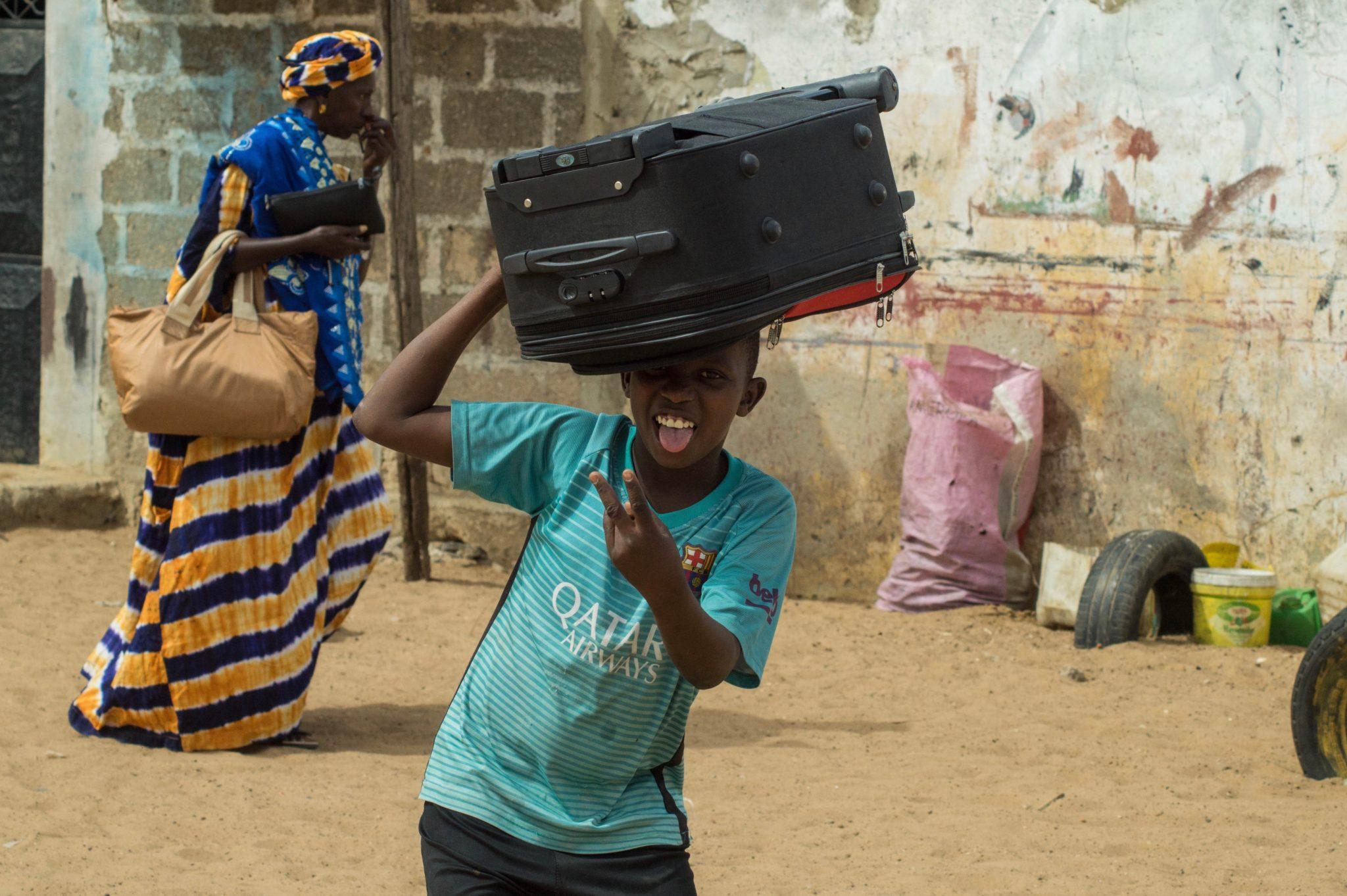 Die Mensch im Senegal sind herzlich und offen