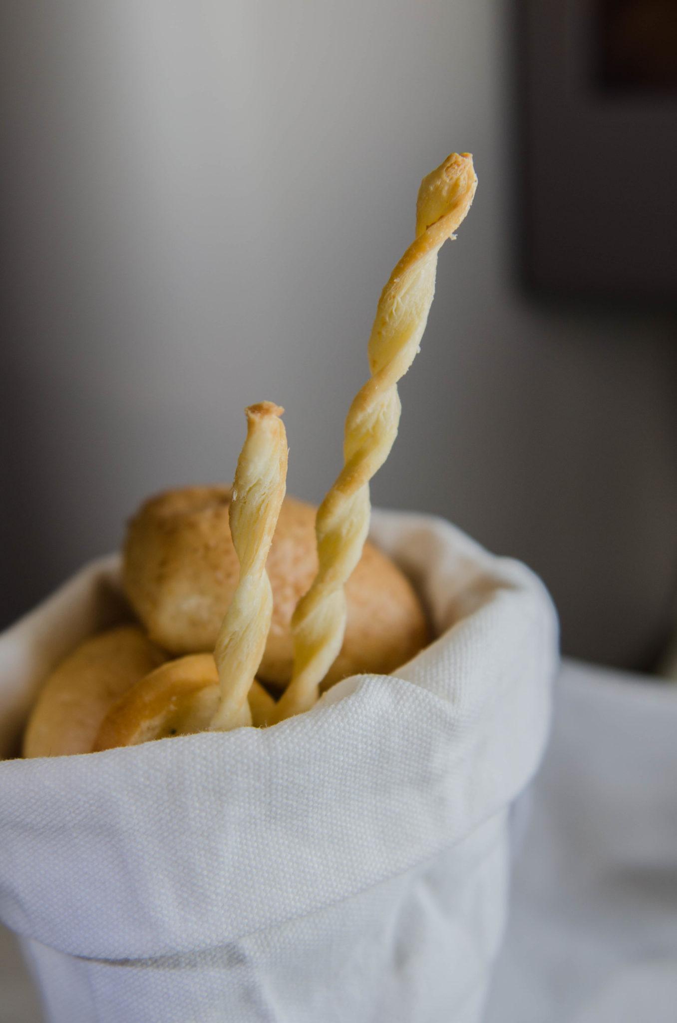 Italienisches Brot auf dem Weg von Peking nach Berlin in der Hainan Airlines Business Class
