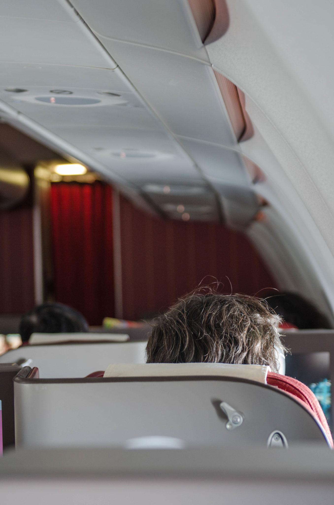 Freie Sicht: Wer in der Hainan Business Class am Fenster sitzt hat einen guten Ausblick