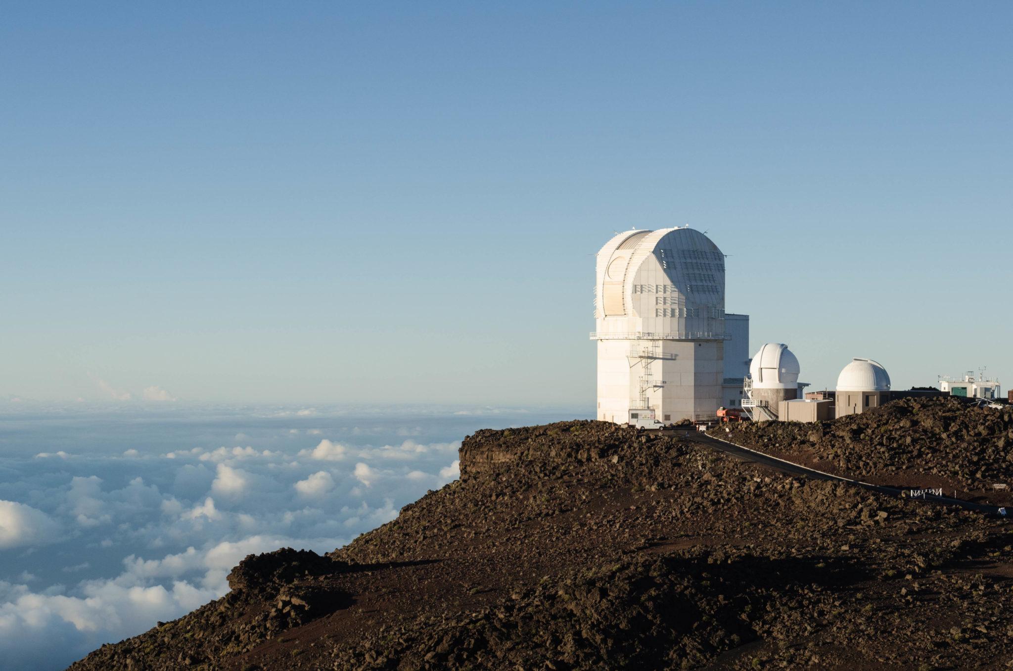 Der Haleakala Vulkan ist perfekt zum Sonnenaufgang