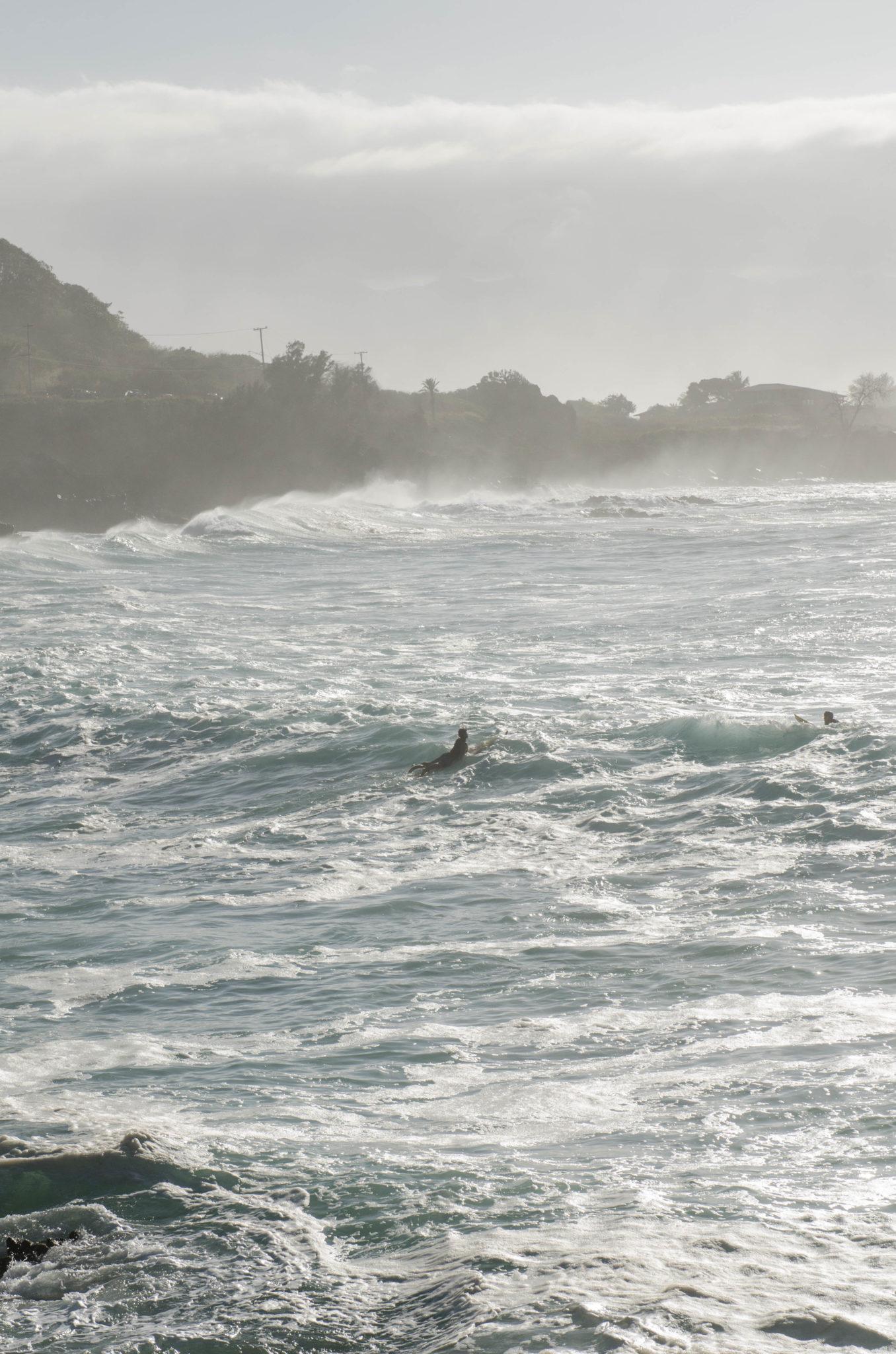 Surfen kann man auf allen Hawaii Inseln sehr gut
