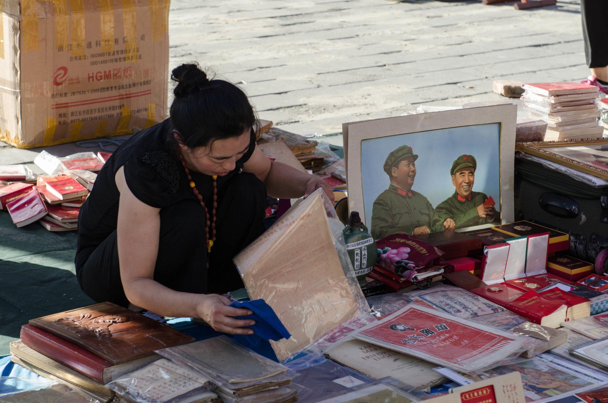 Wer etwas antikes aus China sucht, der wird sicher auf dem Panjiayuan Antikmarkt in Peking fündig.