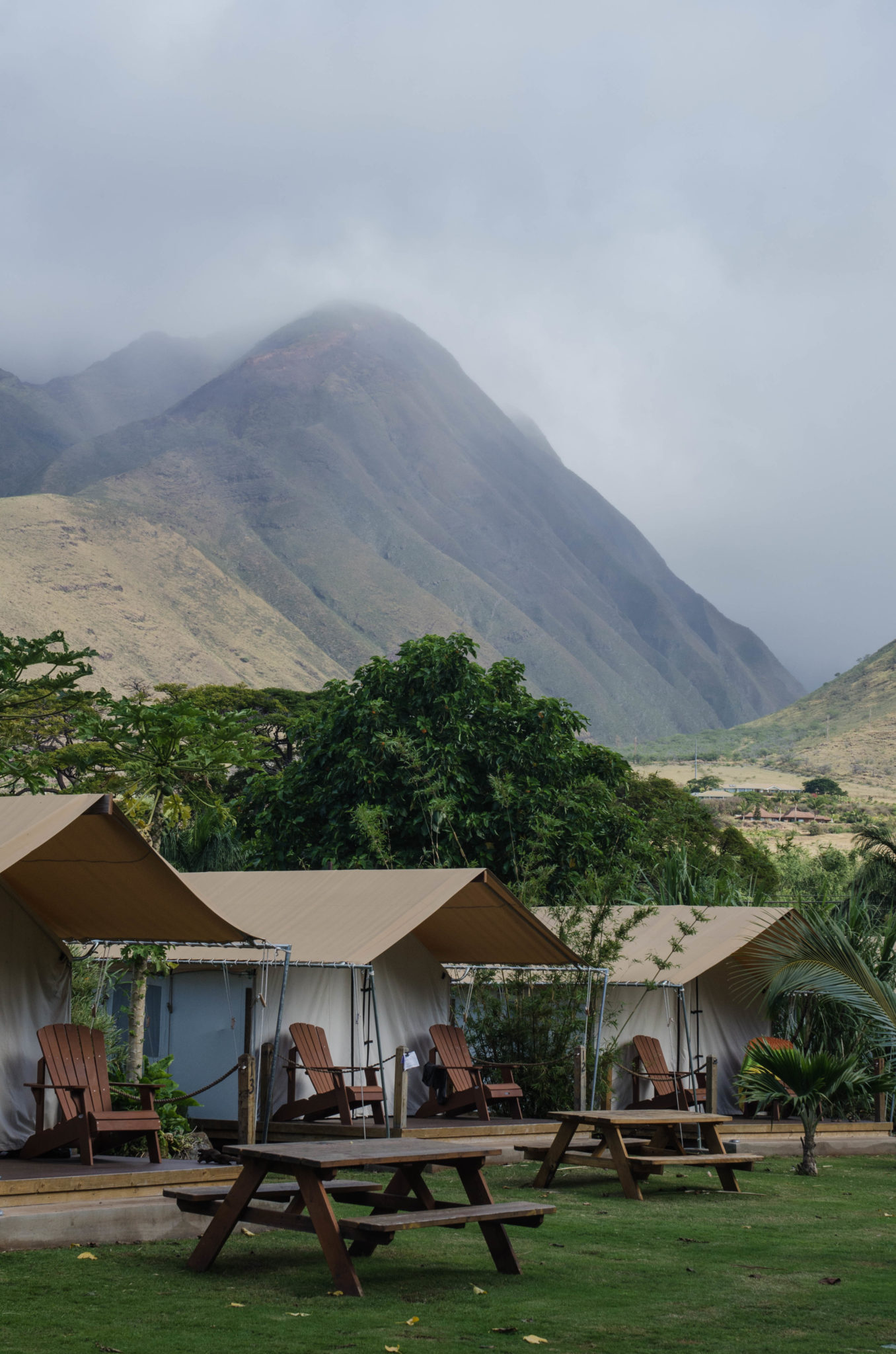 Sehenswürdigkeiten Hawaii: Campen auf Maui? Kann man ganz gut machen.