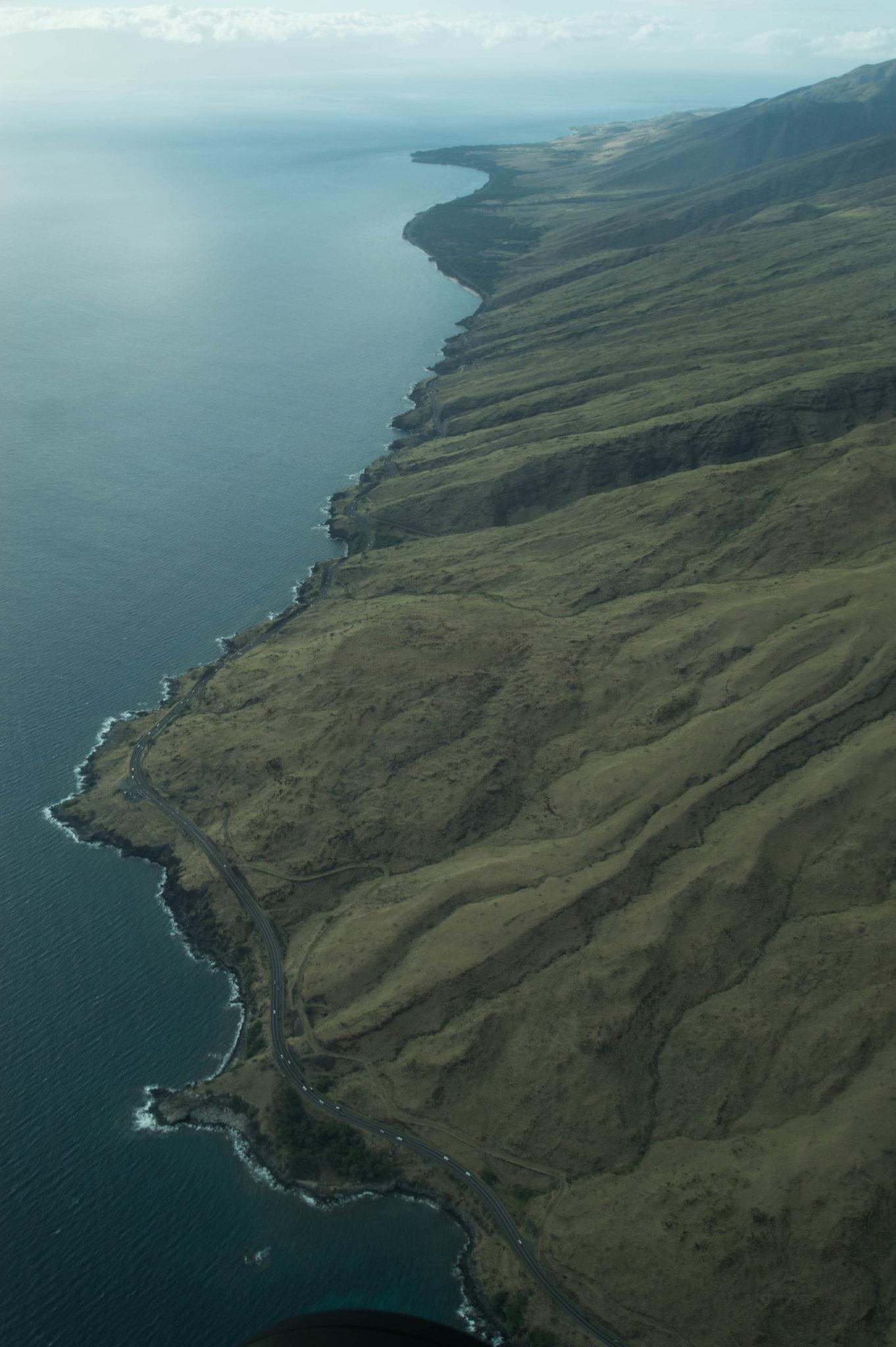 Sehenswürdigkeiten Hawaii: Maui von oben