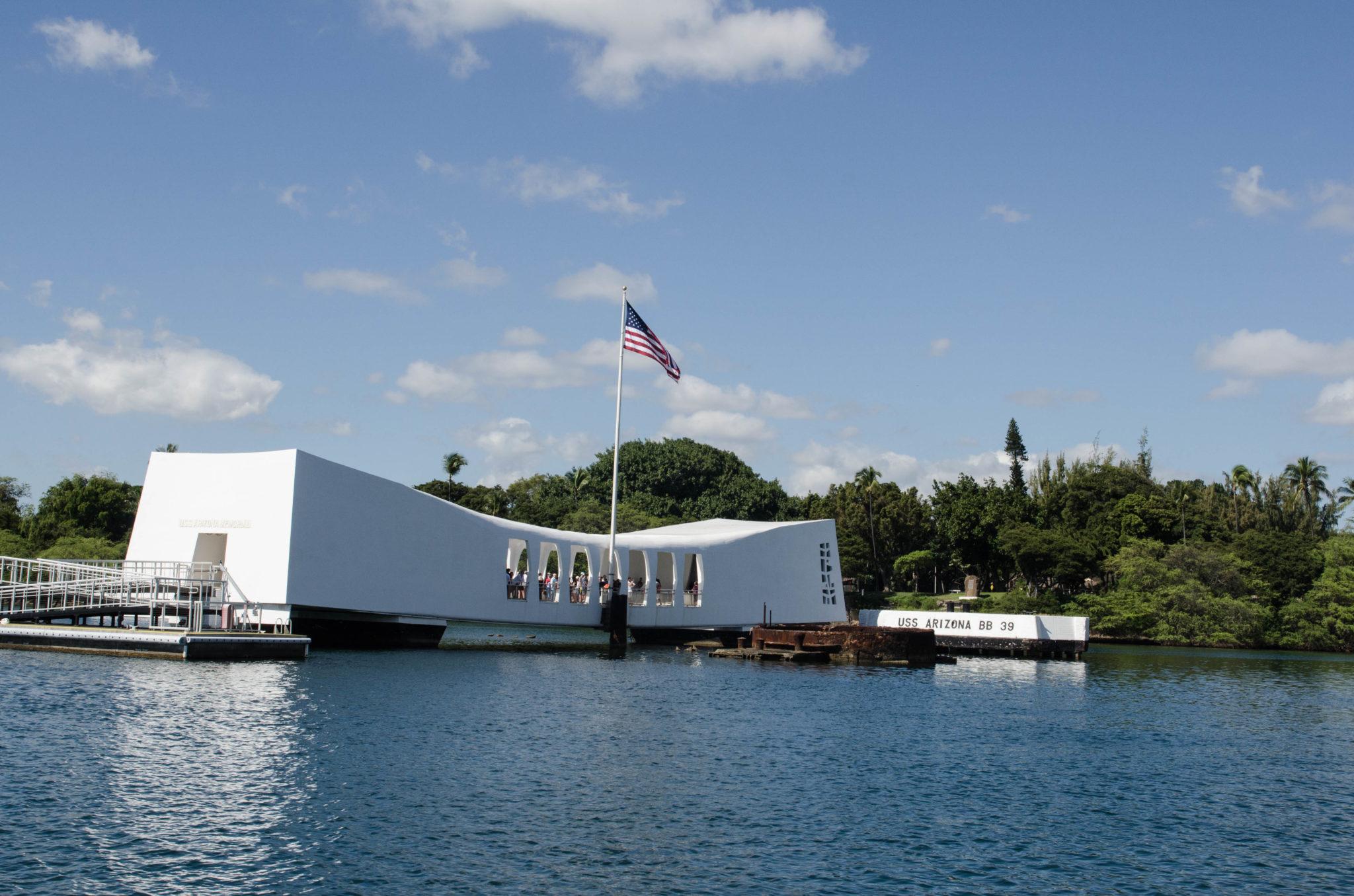 Sehenswürdigkeiten Hawaii: Pearl Harbour auf O'ahu sollte definitiv besucht werden