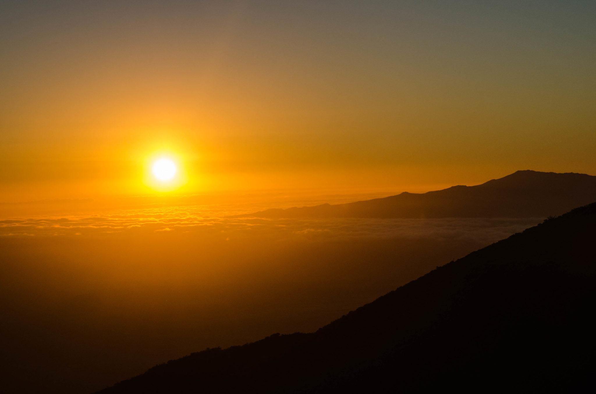 Sehenswürdigkeiten Hawaii: Die Sonnenuntergänge auf Hawaii sind einmalig
